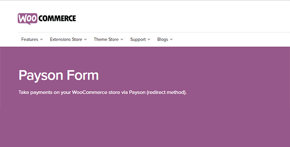 WooCommerce Payson Form 1.7.4