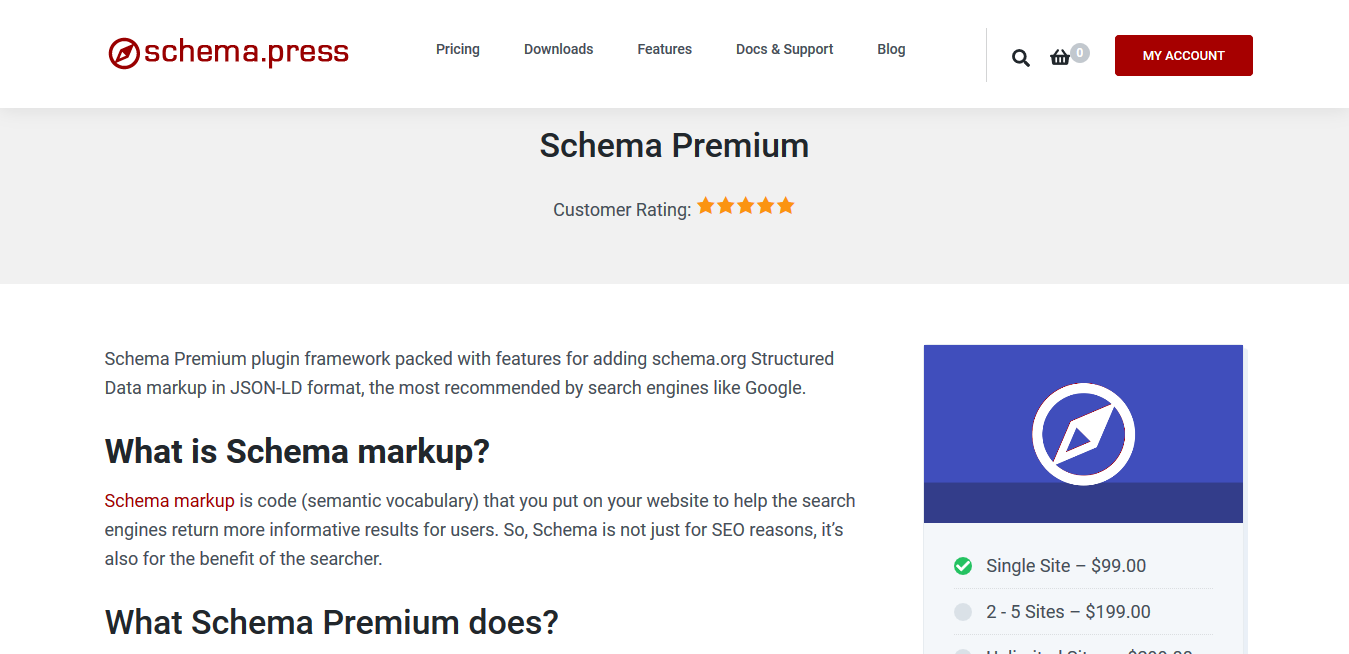Schema Premium 1.2.2 – Structured Data for WordPress