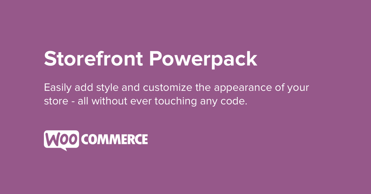 WooCommerce Storefront Powerpack 1.5.0