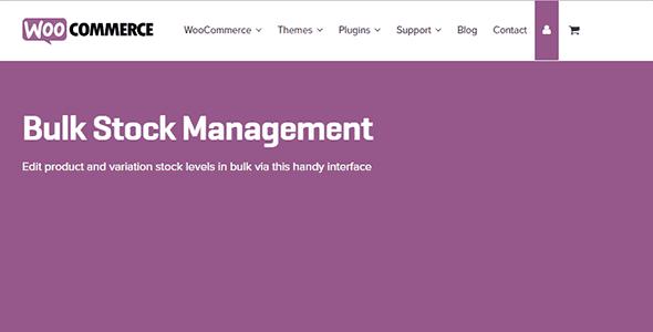 WooCommerce Bulk Stock Management 2.2.31