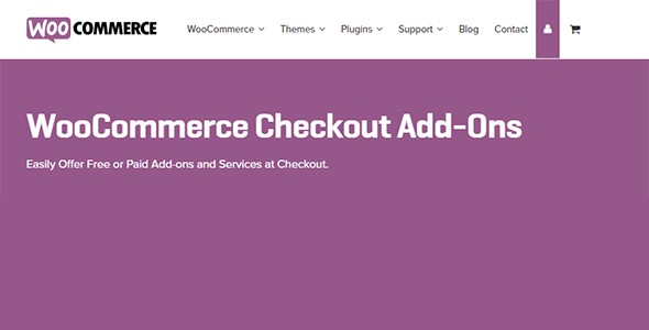 WooCommerce Checkout Add-Ons 2.5.4