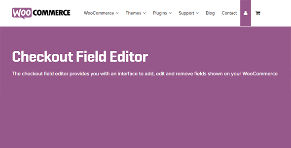 WooCommerce Checkout Field Editor 1.7.0