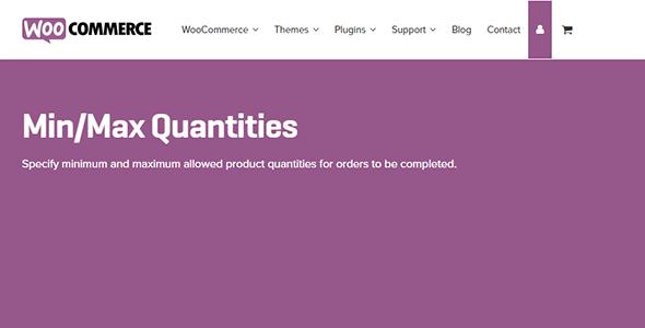 WooCommerce Min/Max Quantities 2.4.24