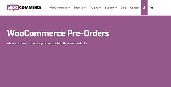 WooCommerce Pre-Orders 1.5.29