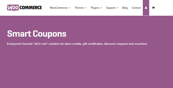 WooCommerce Smart Coupons 4.31 – Best Discount, Credits Plugin