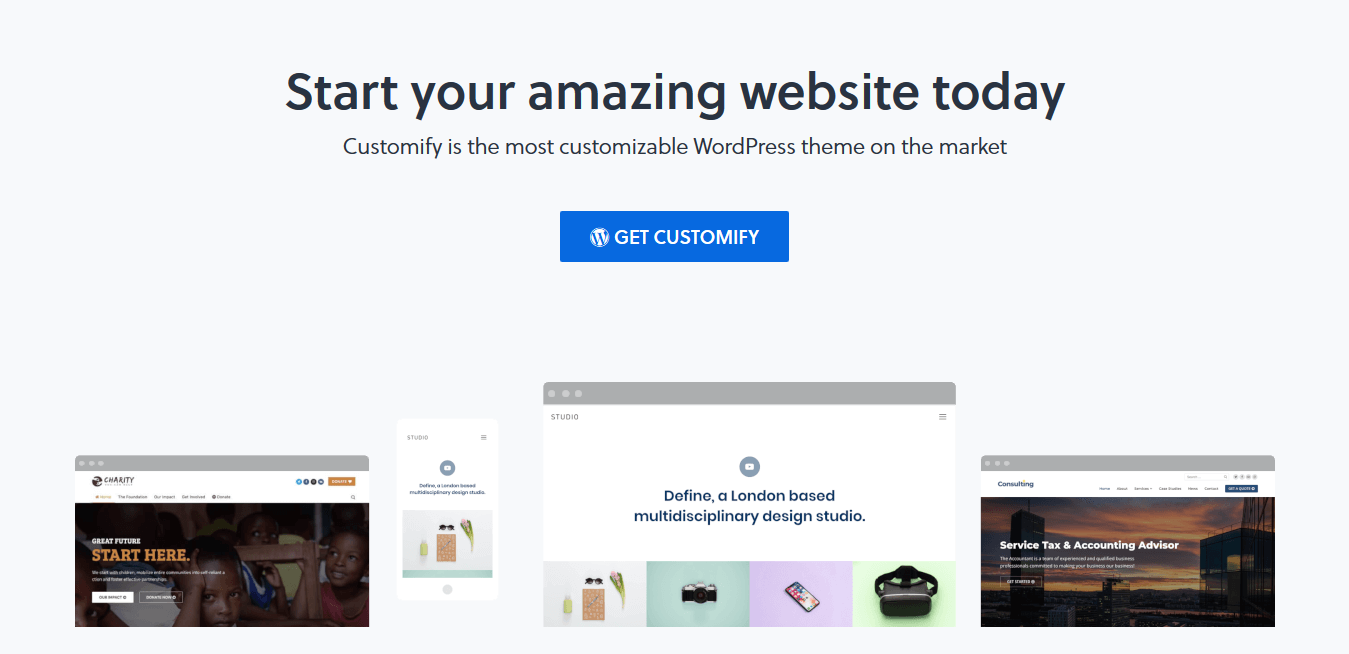 Customify Pro 0.1.2 – The Most Customizable WordPress Theme