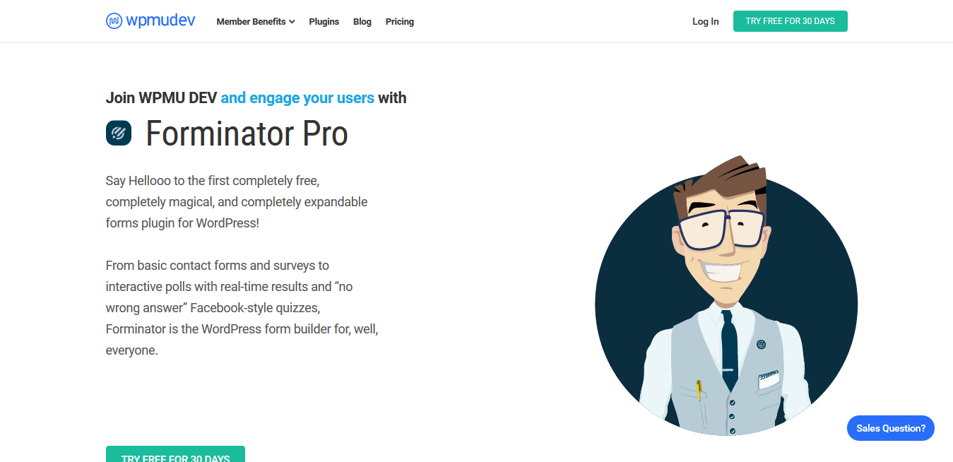 WPMU Dev Forminator Pro 1.14.8.1 – Form Builder Plugin for WordPress