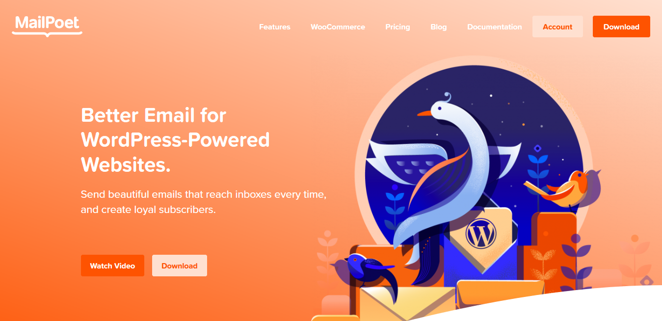 Mailpoet Premium 3.55.0 – Better Email for WordPress-Powered Websites.