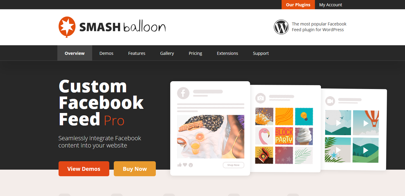 The Custom Facebook Feed WordPress Plugin 3.19.2 – Smash Balloon