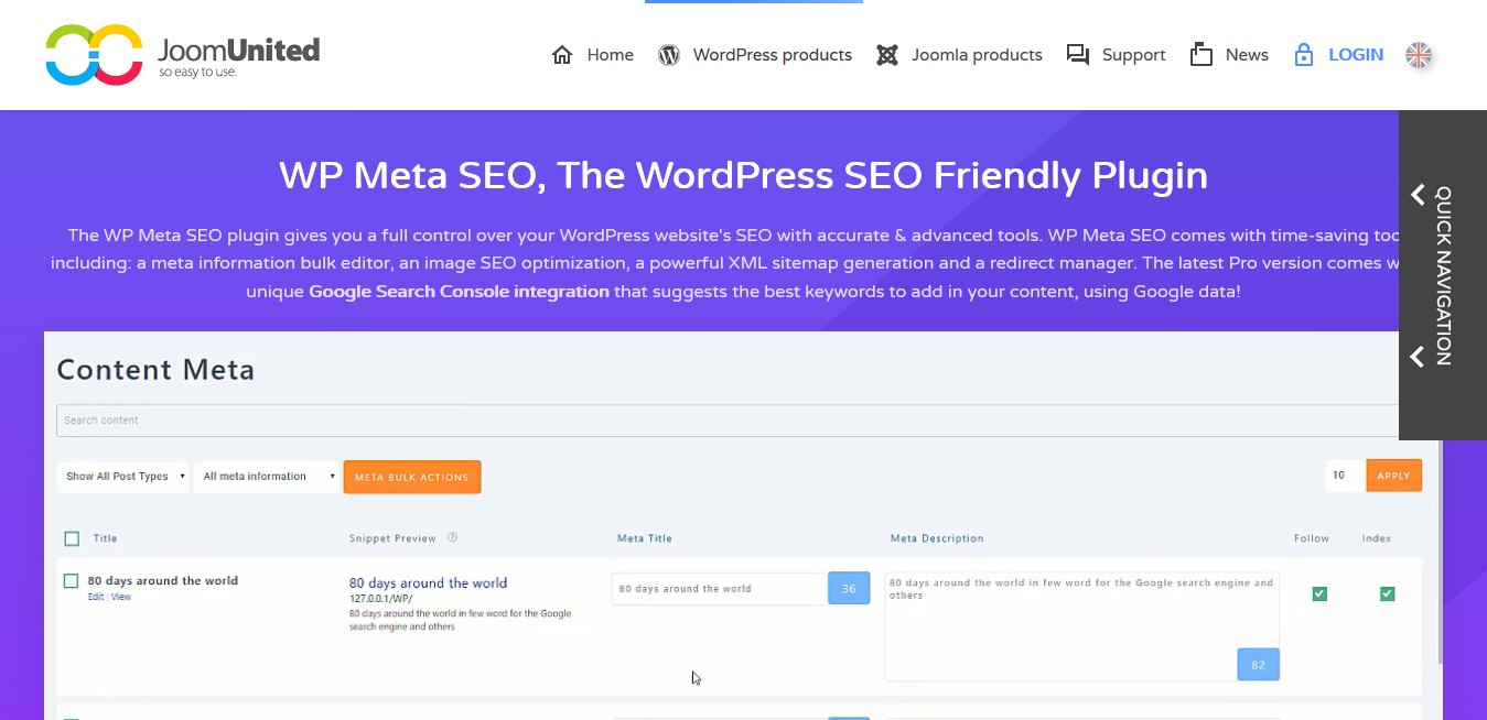 WP Meta SEO 1.4.1 – The WordPress SEO Friendly Plugin