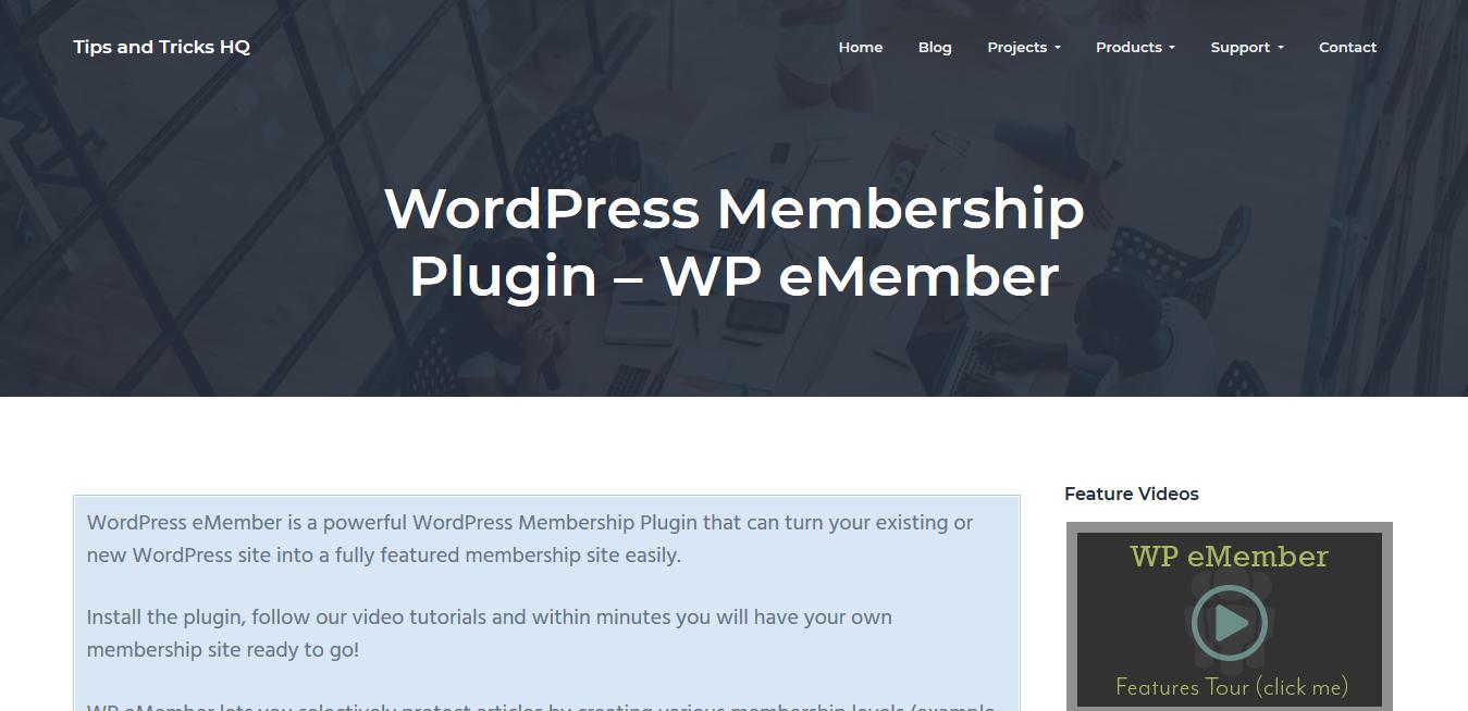 WP eMember 10.2.2 – WordPress Membership Plugin