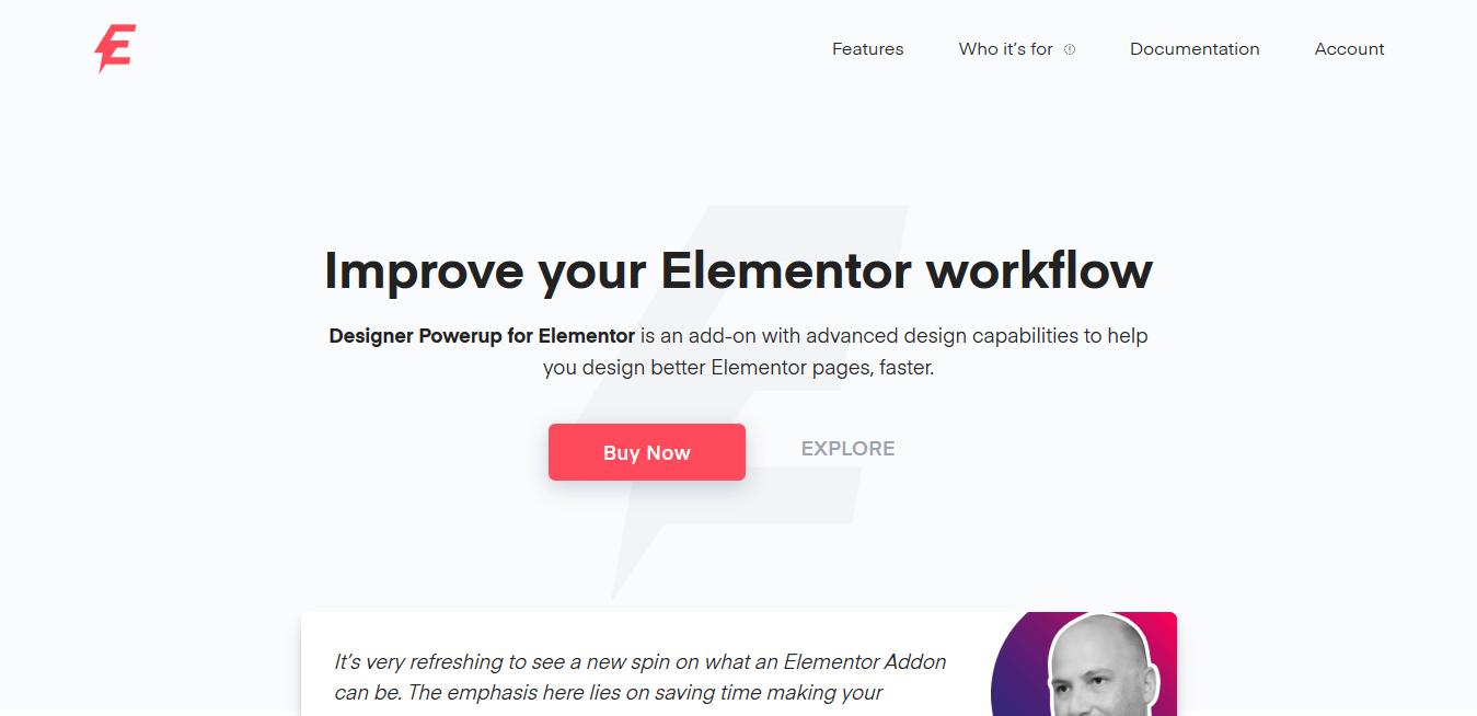 Designer Powerup for Elementor 2.2.4 – Improve your Elementor workflow