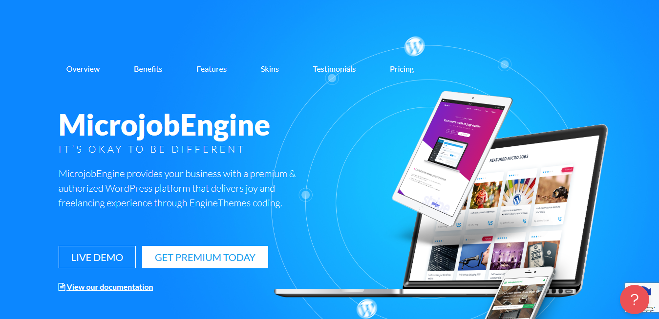 MicrojobEngine (+6 Addons) – Microjob Marketplace WordPress Theme