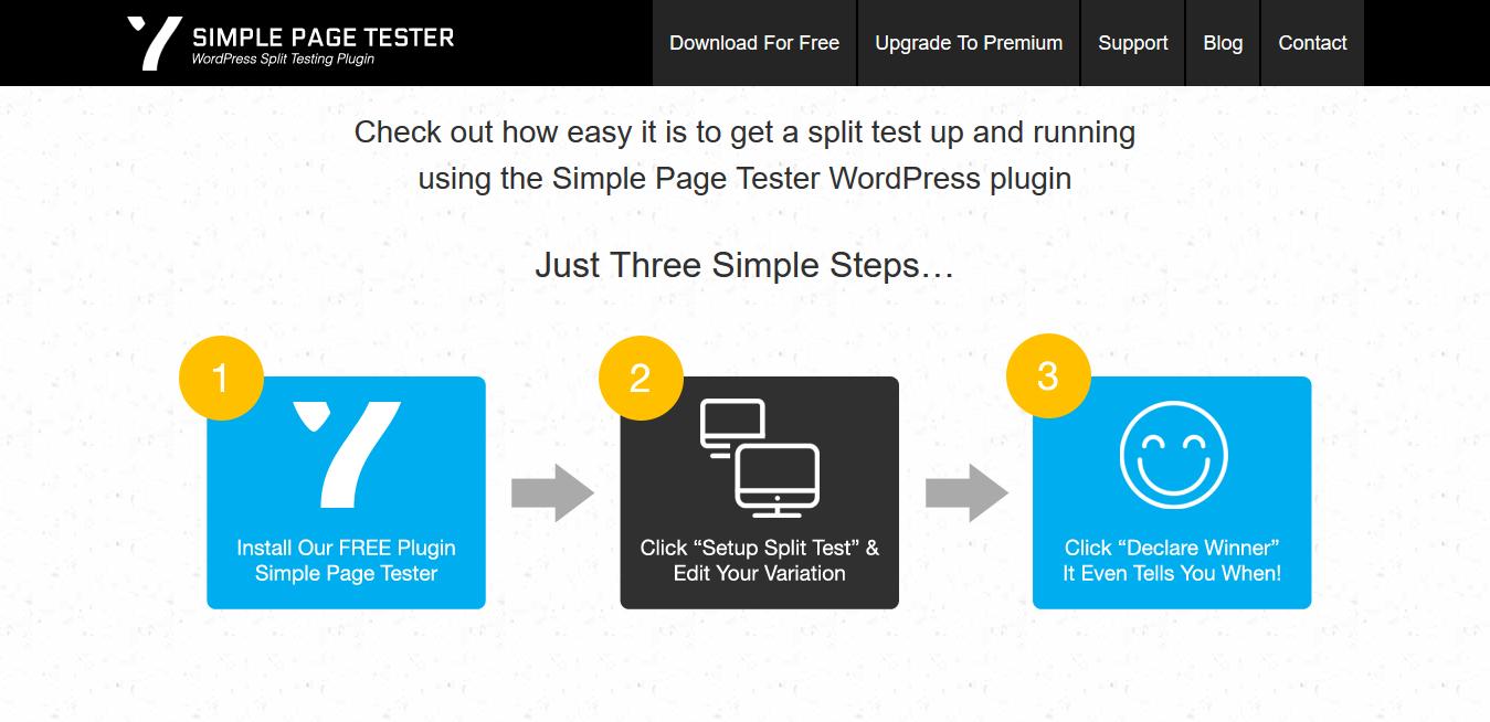 Simple Page Tester 1.4.2: Split Testing Plugin For WordPress