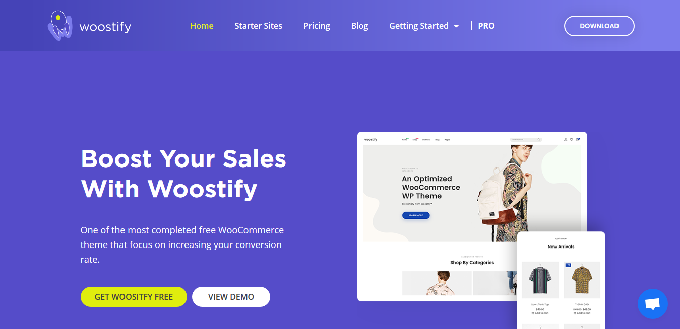 Woostify 1.8.4 + Pro Addon 1.4.8 – A Lightweight, Customizable WooCommerce Theme