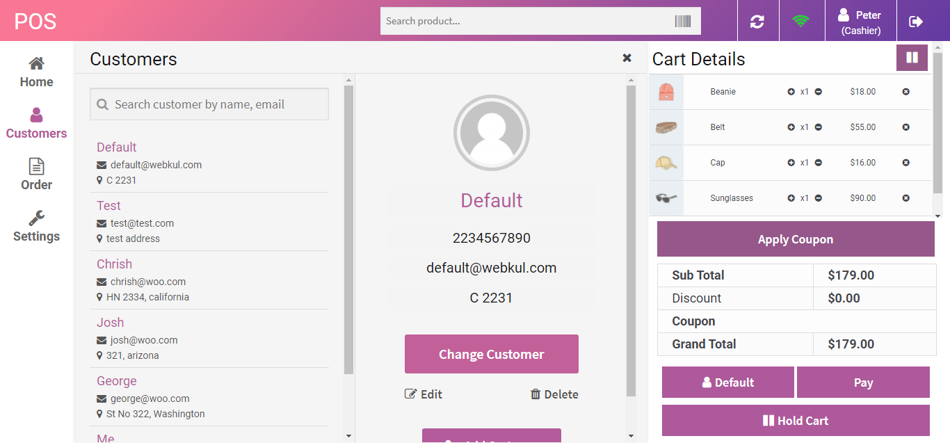 WooCommerce Point of Sale (POS) 5.5.3