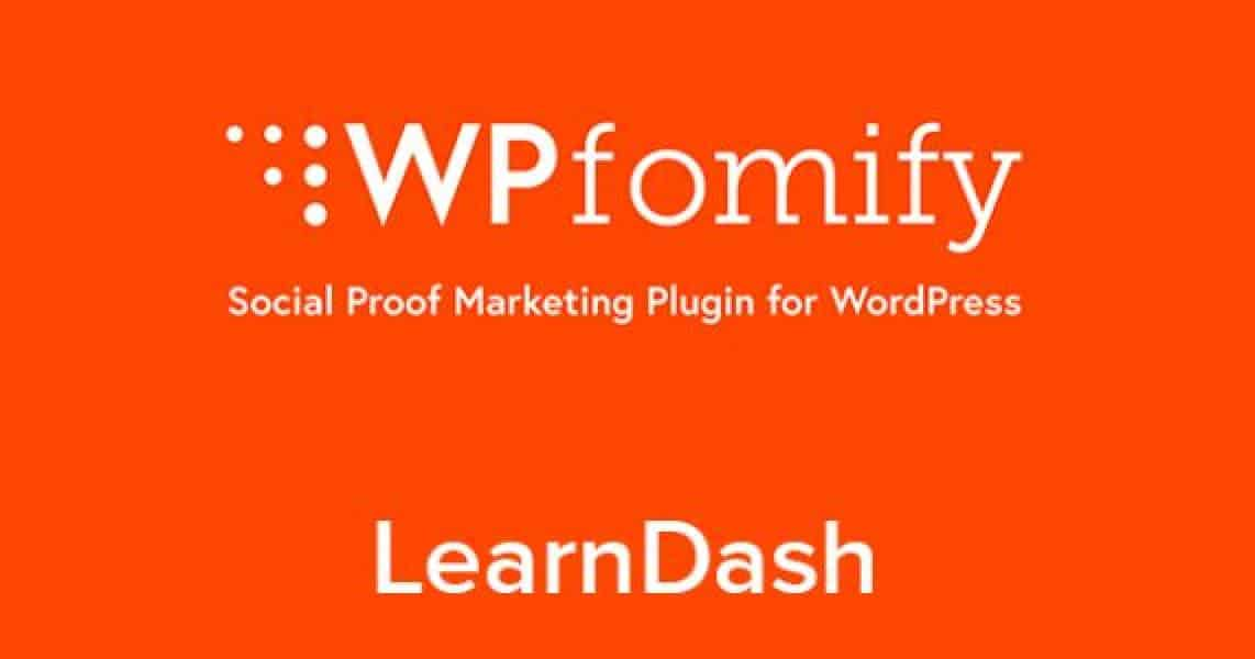 WordPress WPFomify Learndash Addon 1.0.0