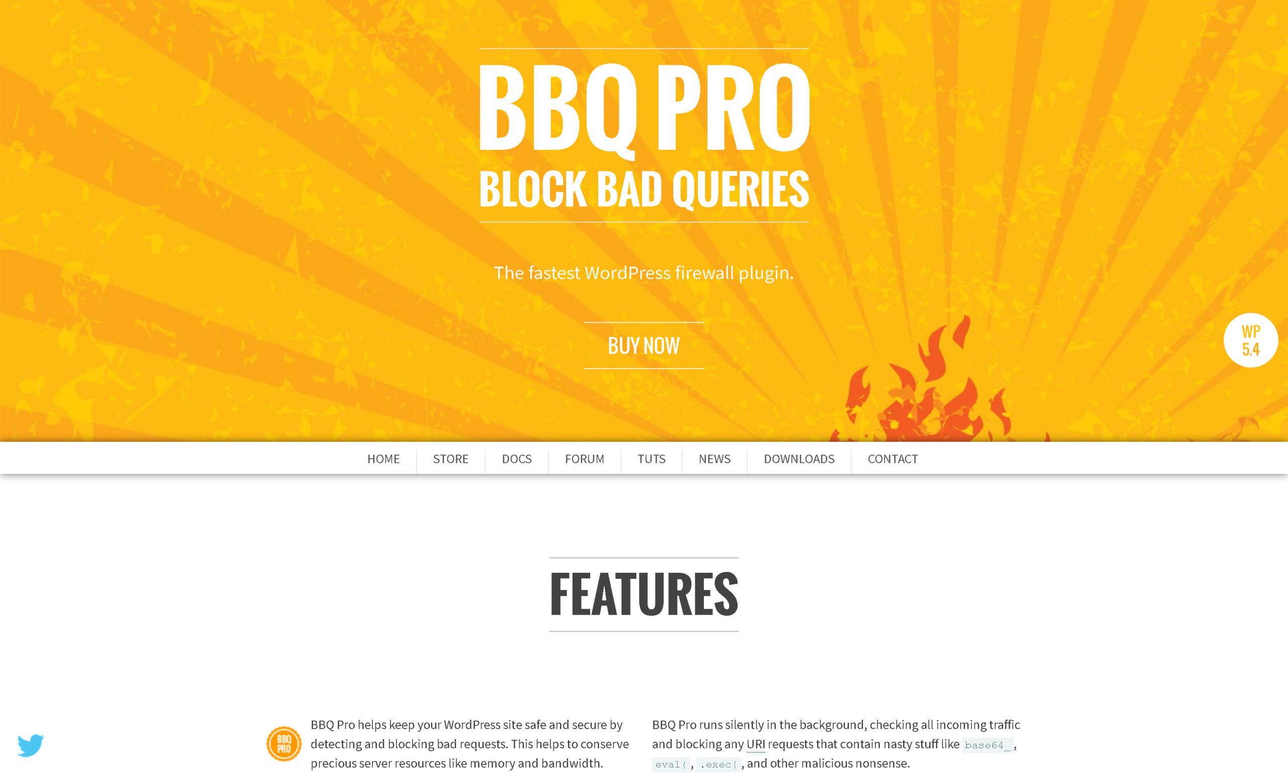 BBQ Pro Block Bad Queries 2.7 – The fastest WordPress firewall plugin