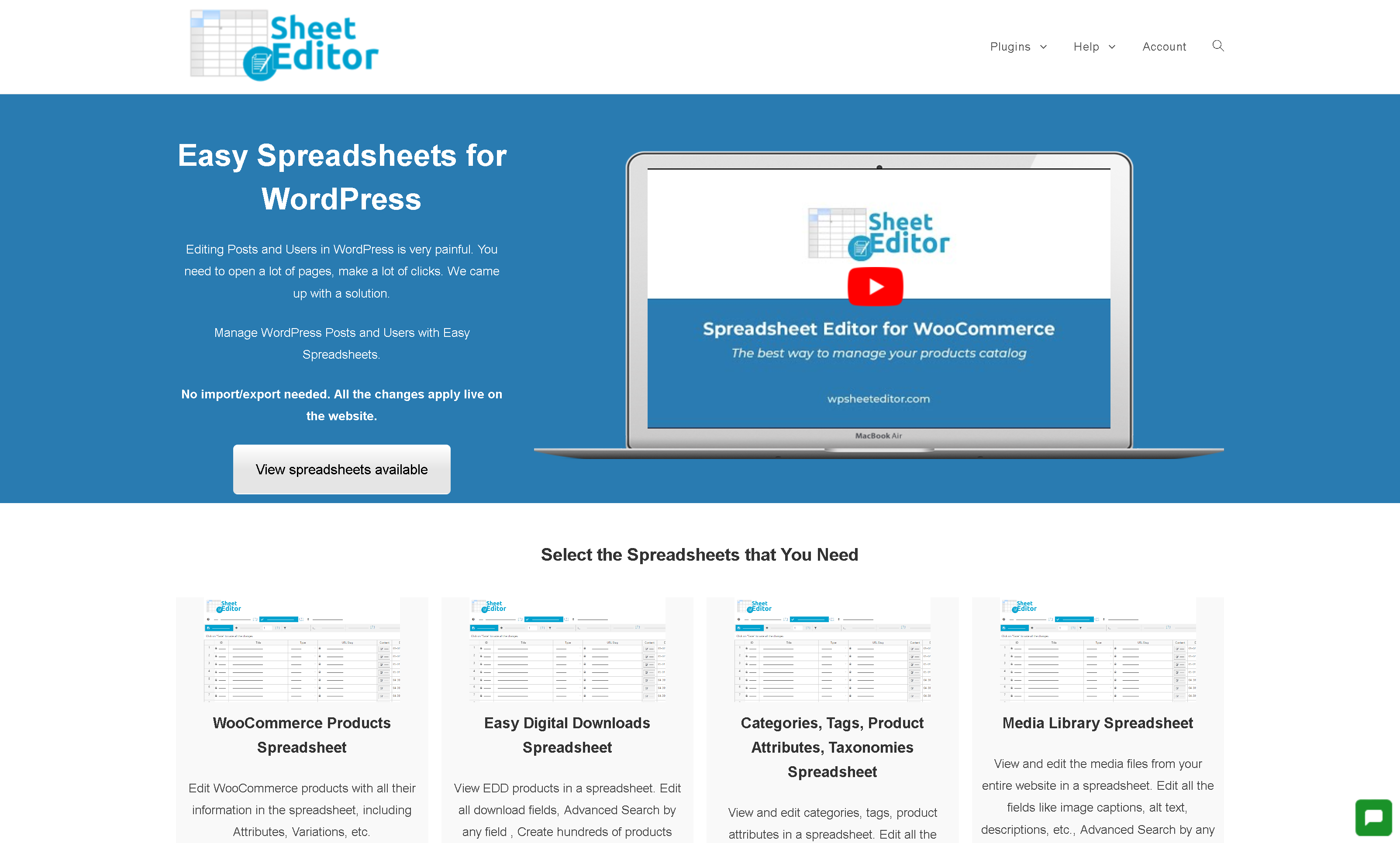 Gpl Wp Sheet Editor Premium 2 23 0 Easy Spreadsheets For Wordpress With License Free Updates
