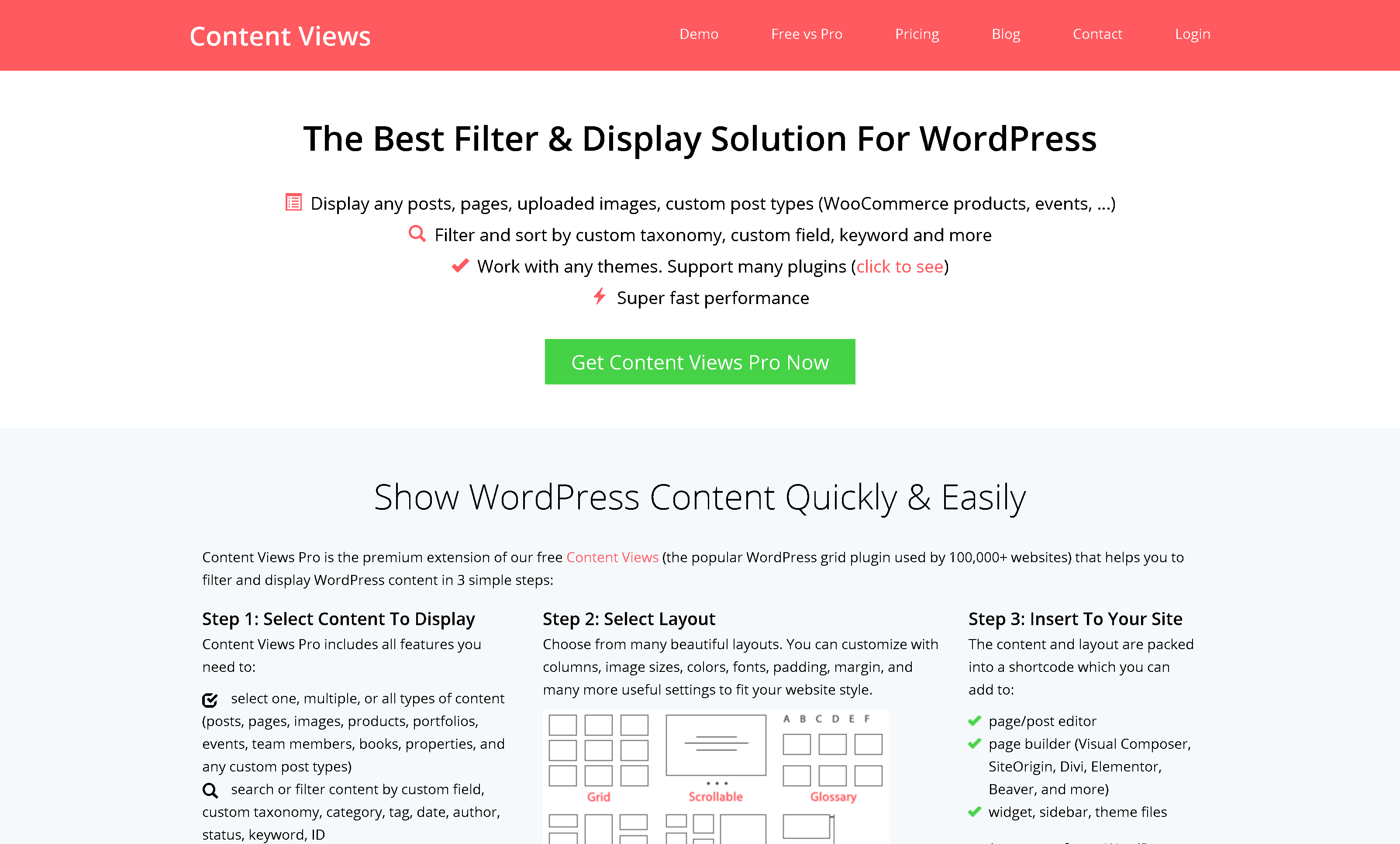 Content Views Pro 5.8.0 – WordPress Grid Plugin