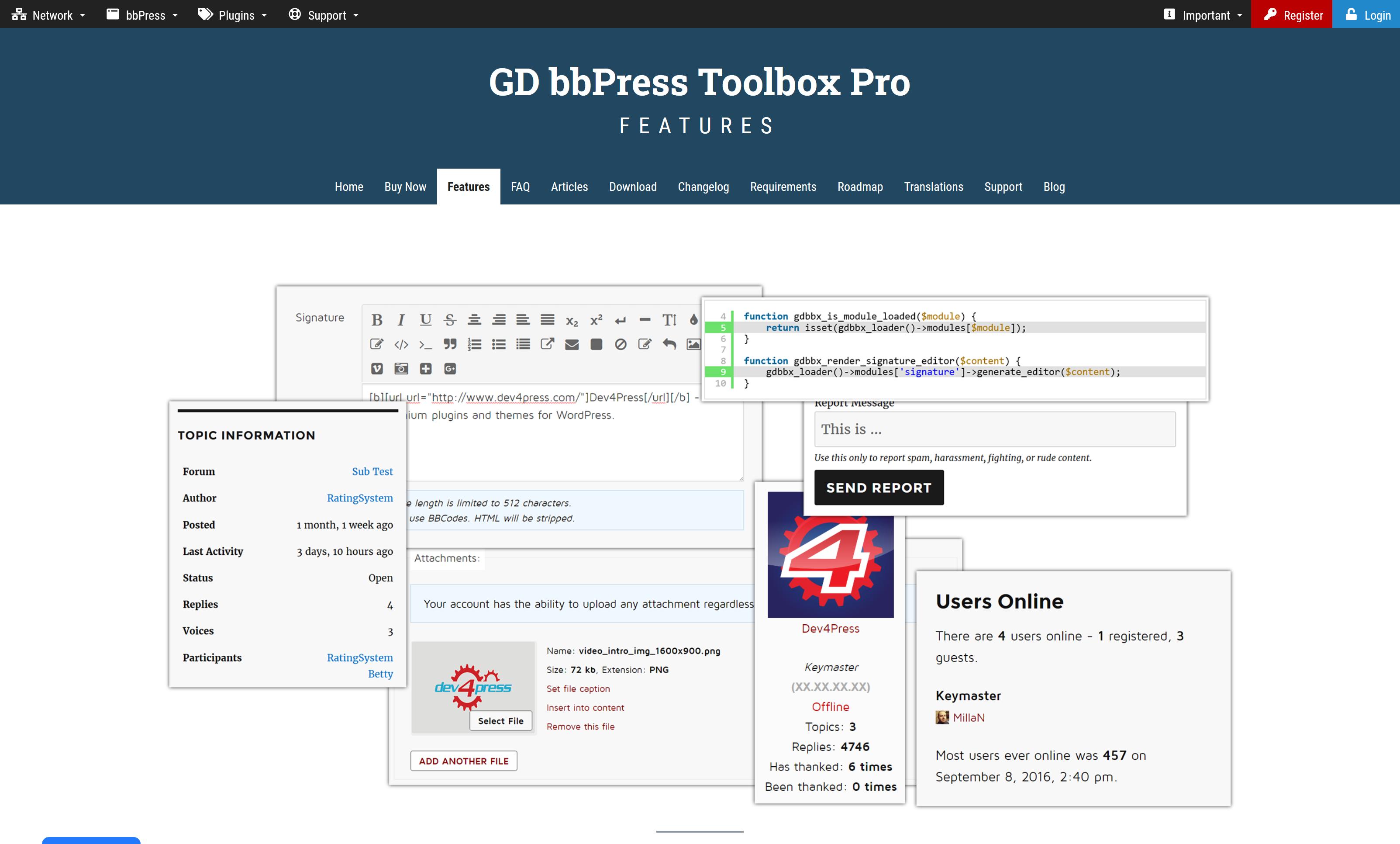 GD bbPress Toolbox Pro 6.4.4 – Dev4Press Plugins for WordPress
