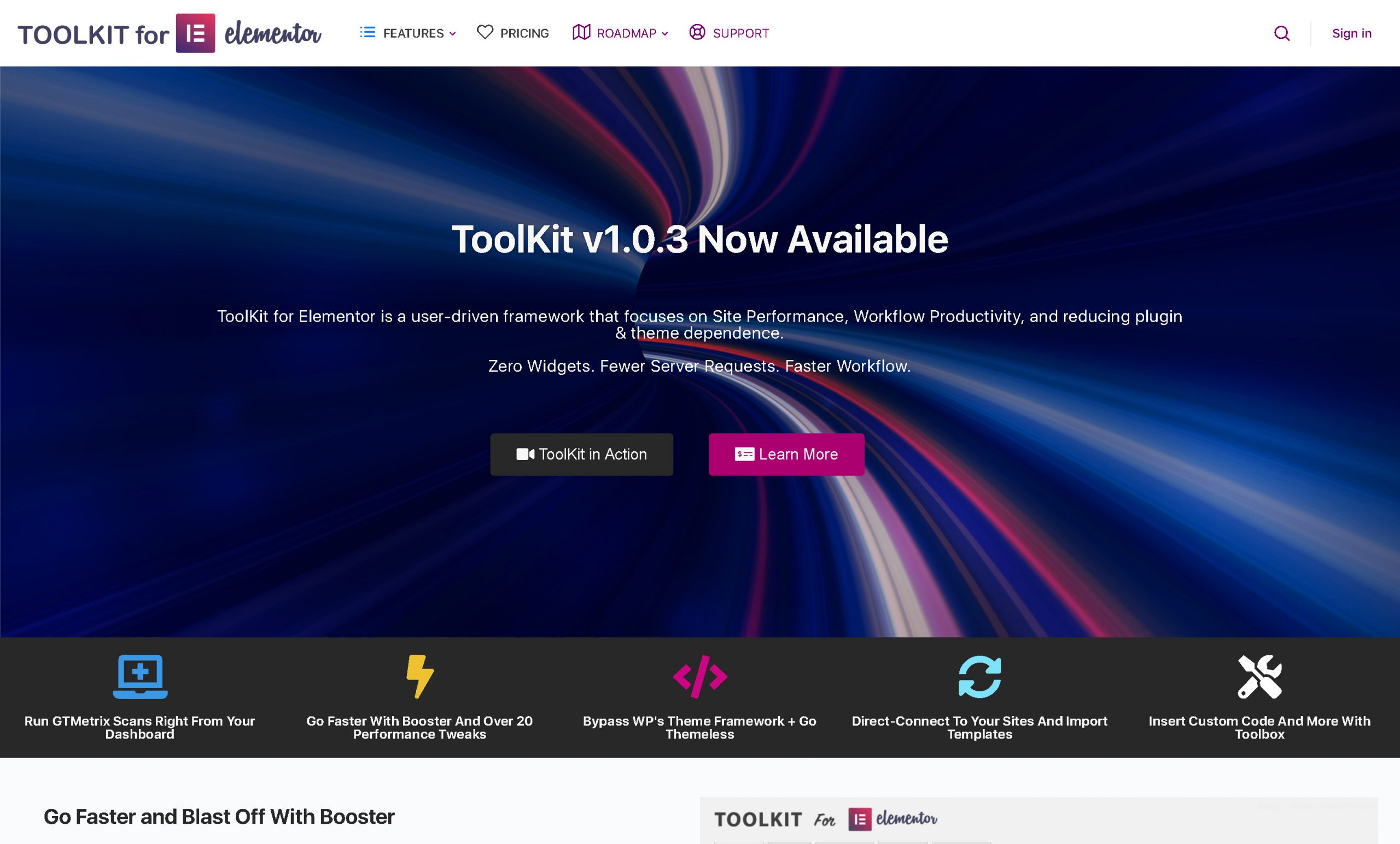 WordPress ToolKit For Elementor 1.3.7
