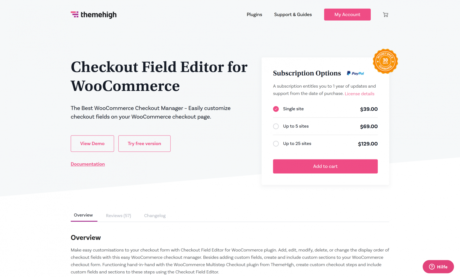WooCommerce Checkout Field Editor 3.1.6 – Checkout Manager Plugin