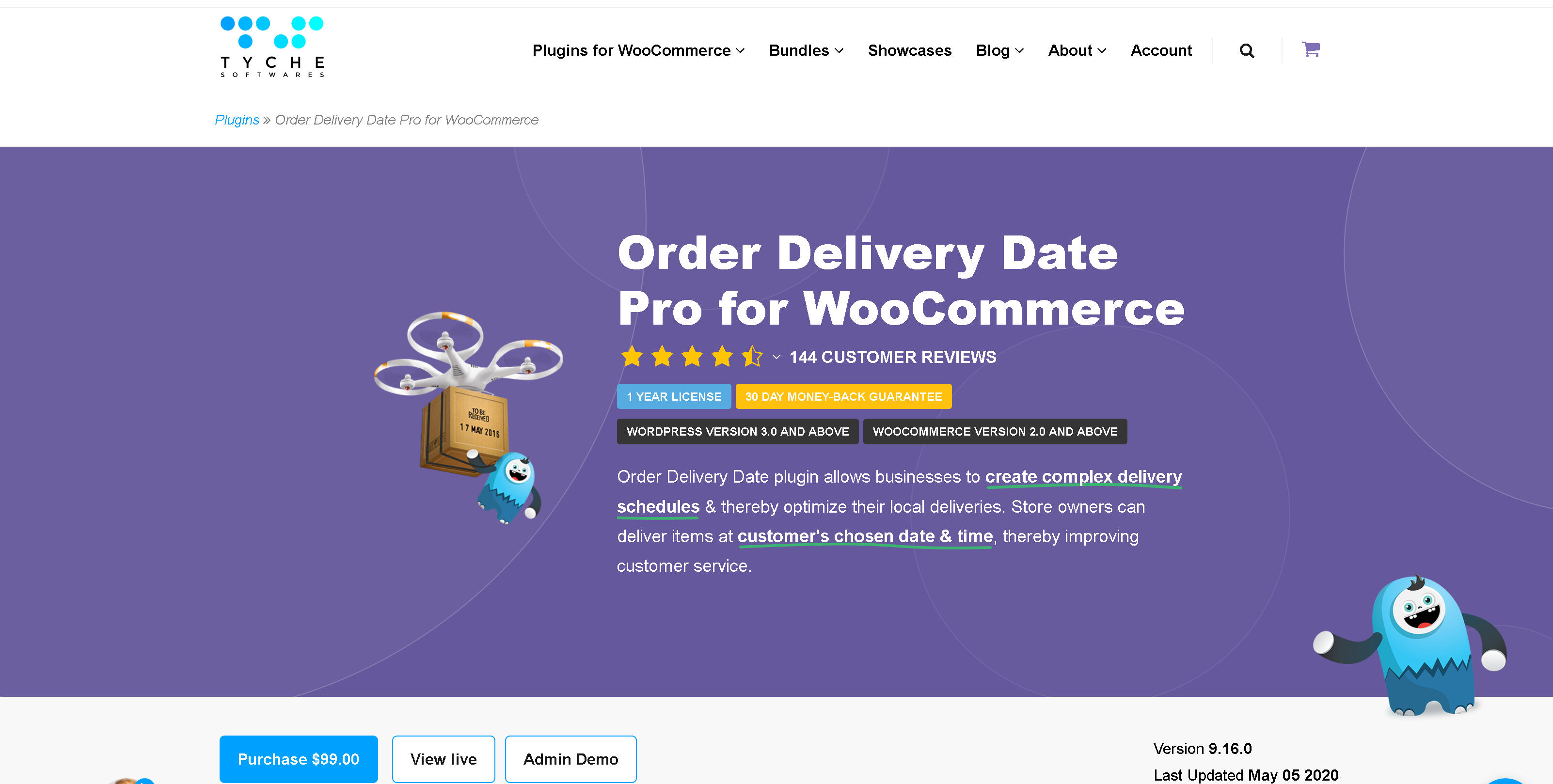 Order Delivery Date Pro for WooCommerce 9.16.0 – WooCommerce Delivery Date and Delivery Time