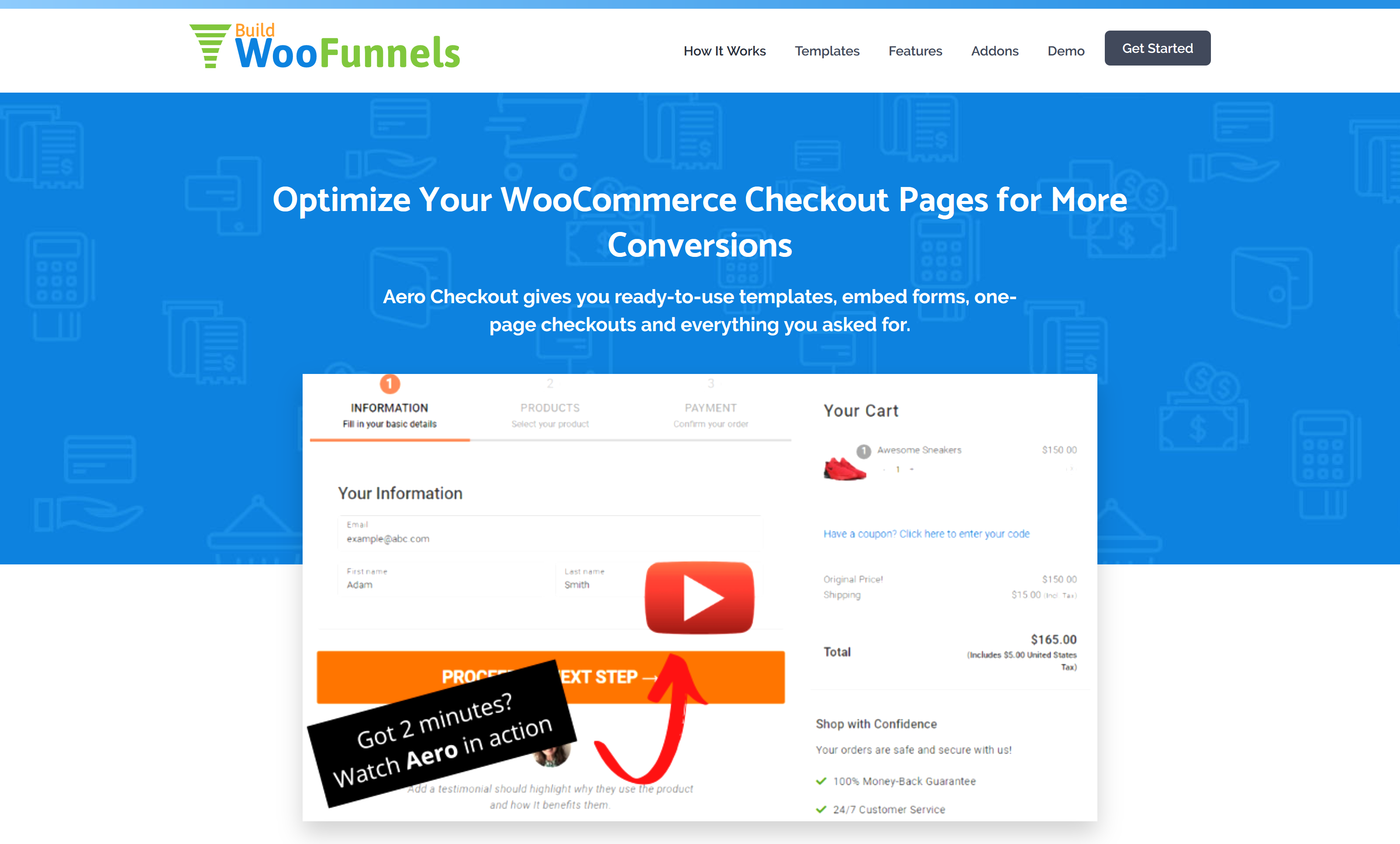 WooFunnels AeroCheckout 2.9.2 (+ All 3 Addons) – Custom WooCommerce Checkout Pages