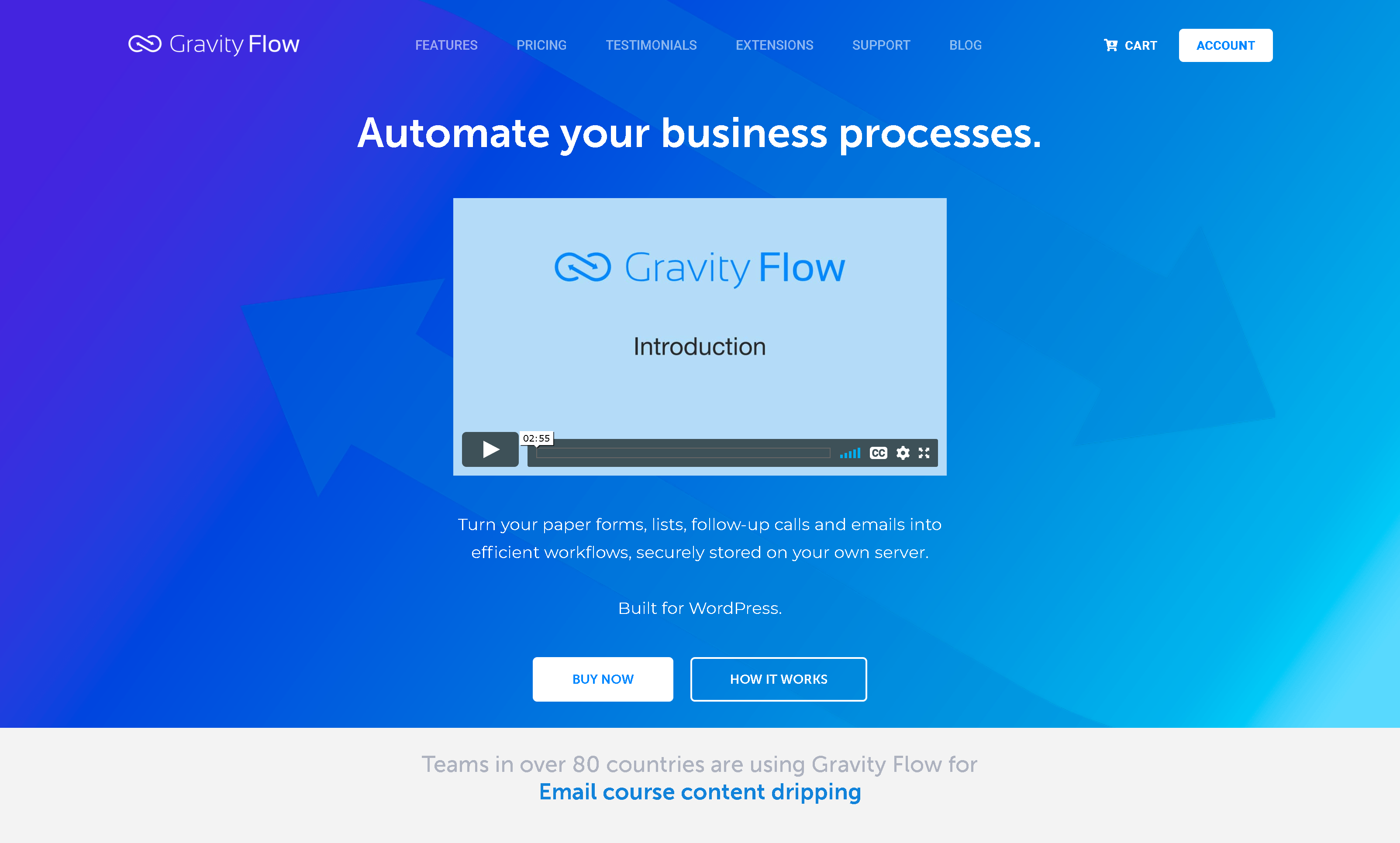 Gravity Flow WordPress Plugin 2.7.0 – Business Process Automation with WordPress Gravity Forms