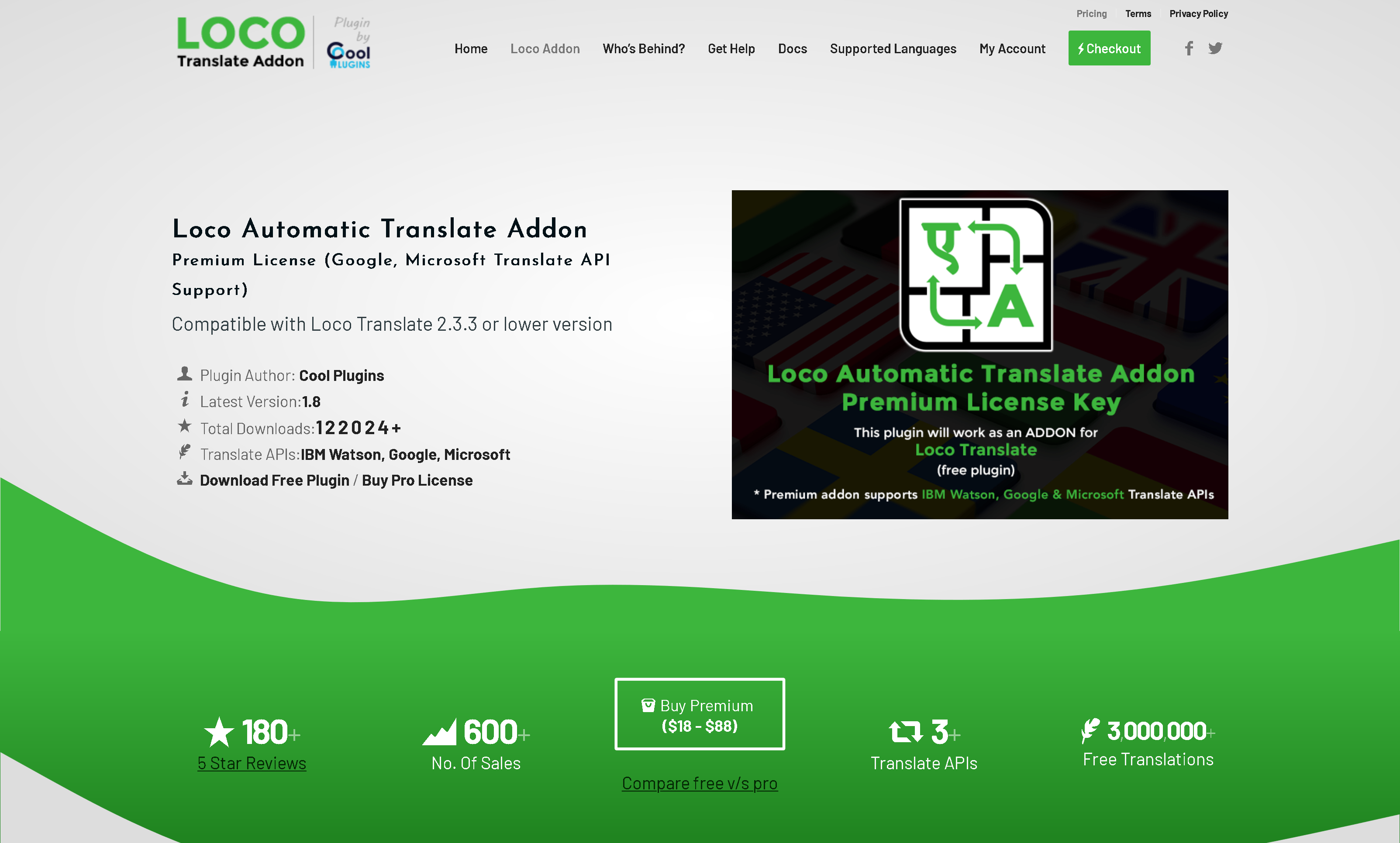Loco Translate Pro 2.4.0 (+ All Addons) – Translate themes and plugins directly in WordPress