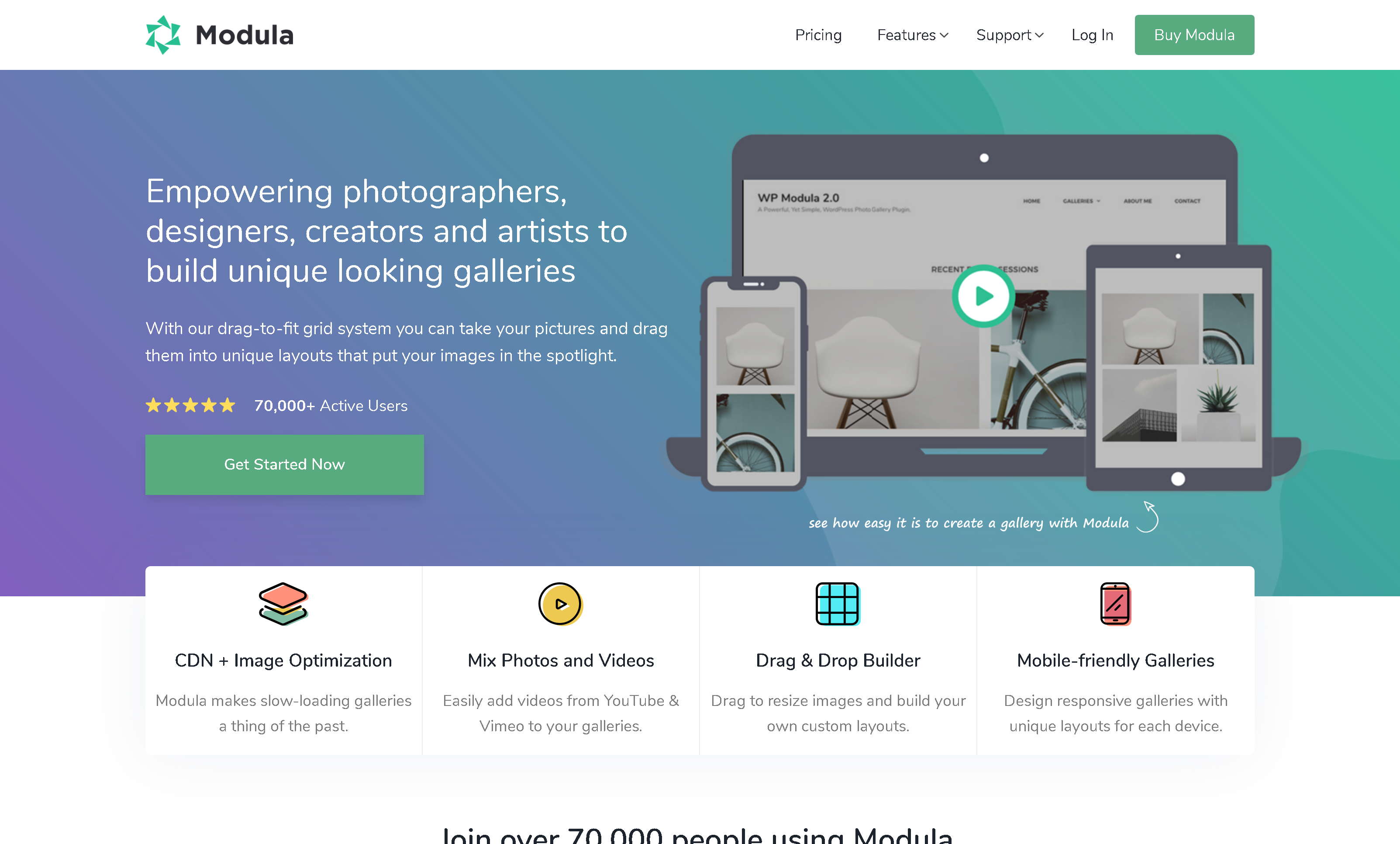 Modula Pro 2.5.1 + Addons – Best WordPress Image Gallery Plugin for photographers creatives