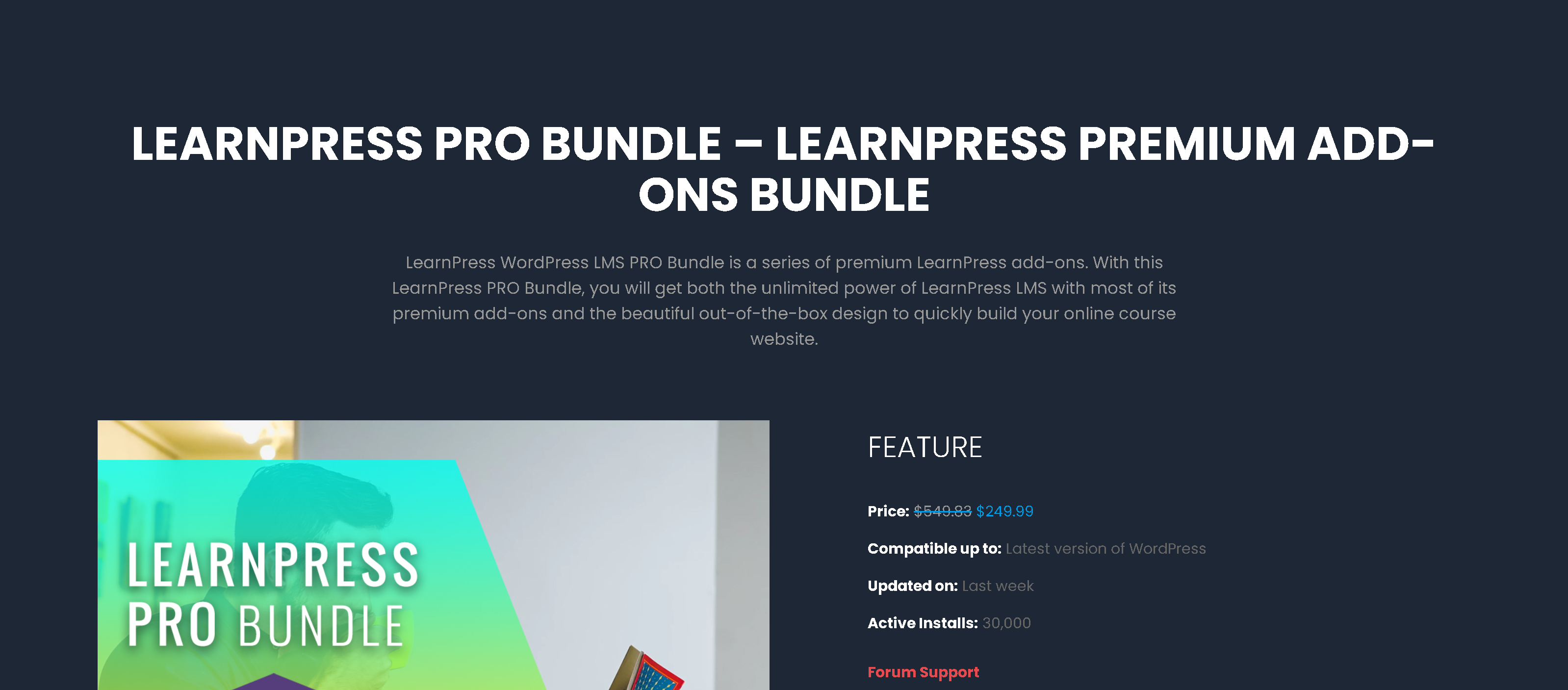 LearnPress PRO Bundle 3.2.7.8 – All 15 LearnPress Premium Add-ons