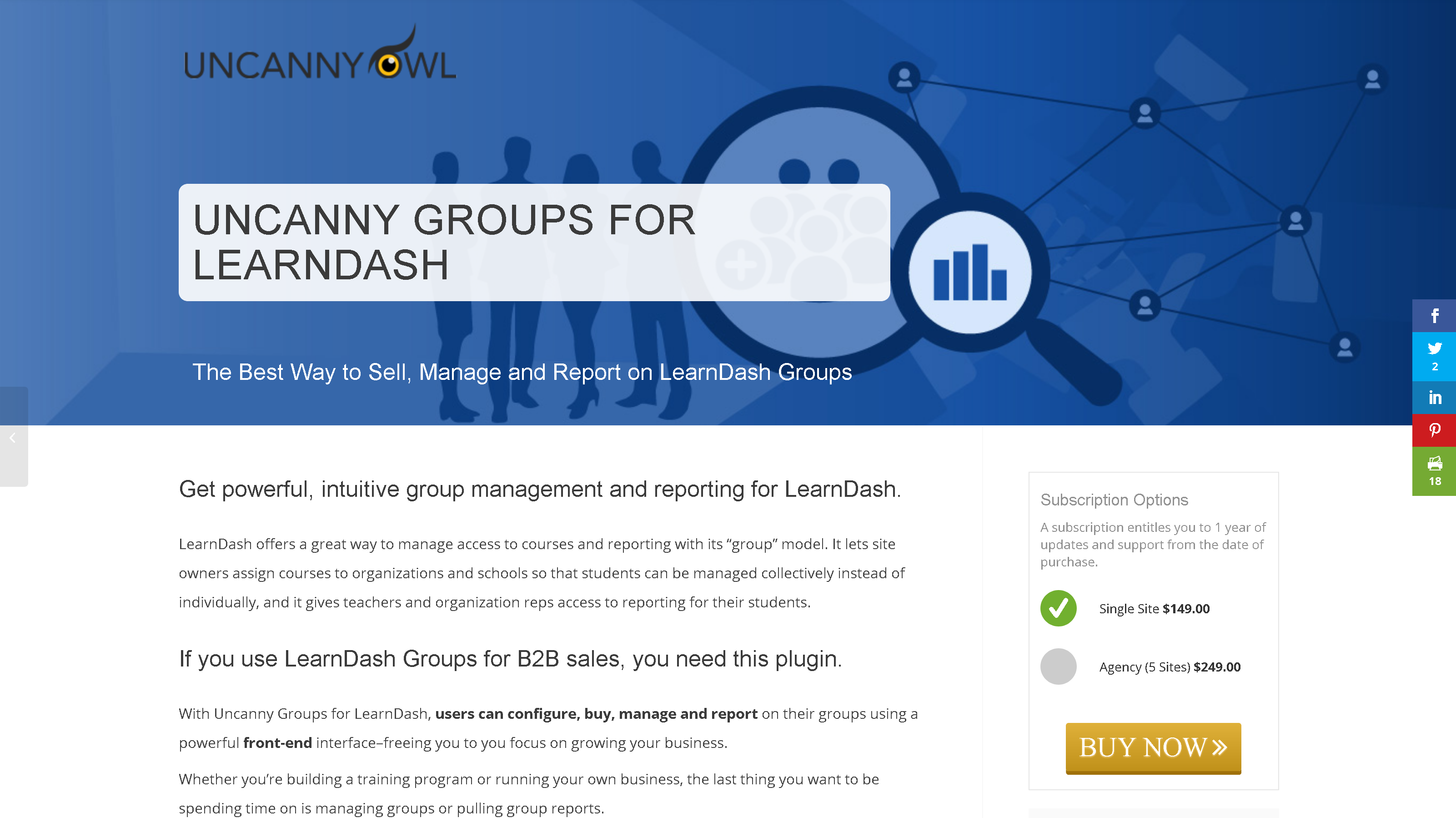 Uncanny Learndash Groups 3.10.1 – Intuitive group management and reporting for LearnDash