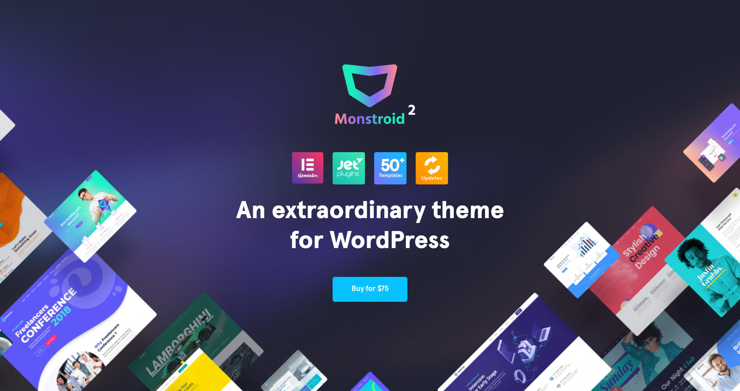 Monstroid2 1.1.6 – Multipurpose Modular Elementor WordPress Theme