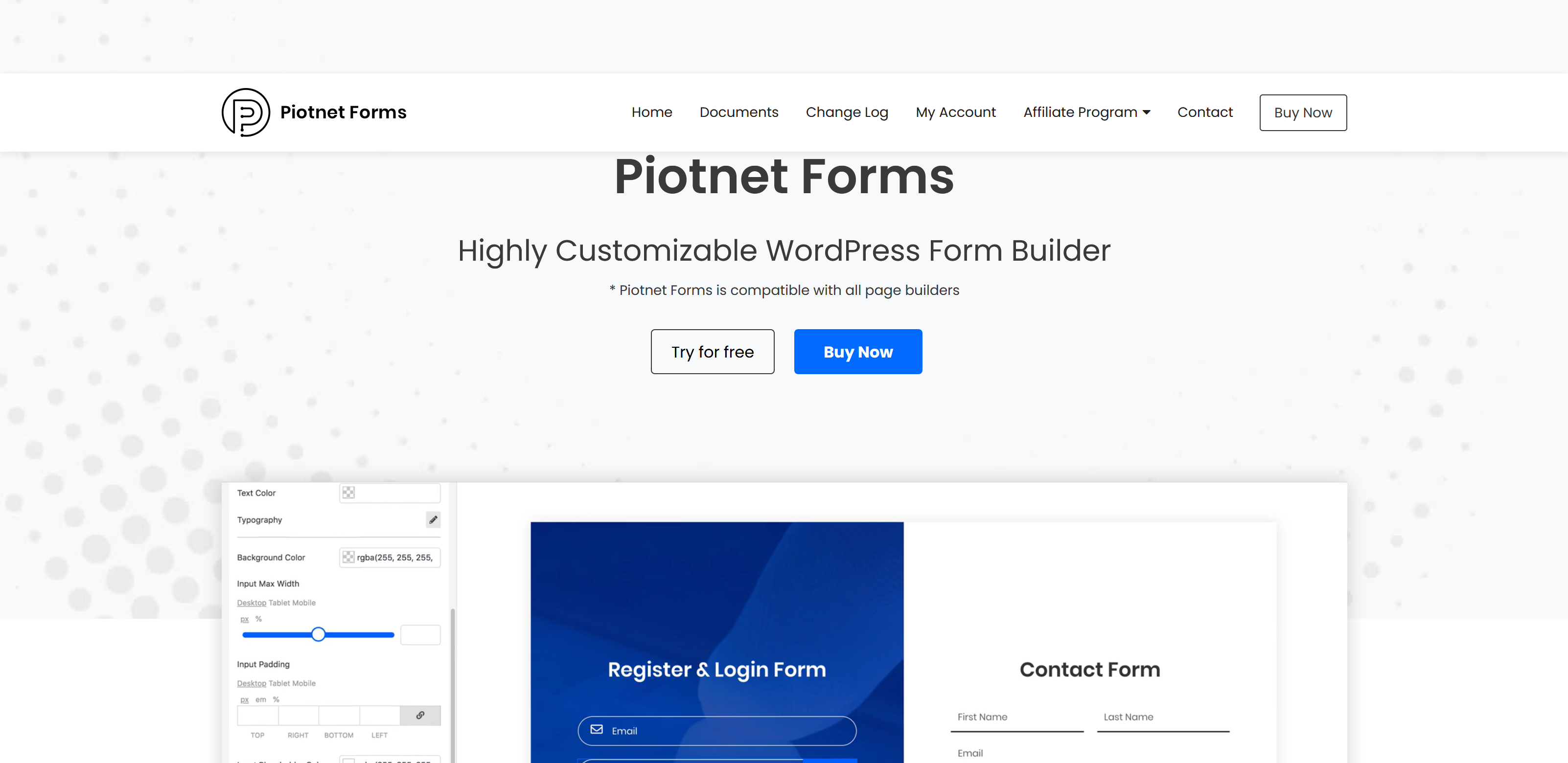 Piotnet Forms Pro 1.1.15 – Highly Customizable WordPress Form Builder