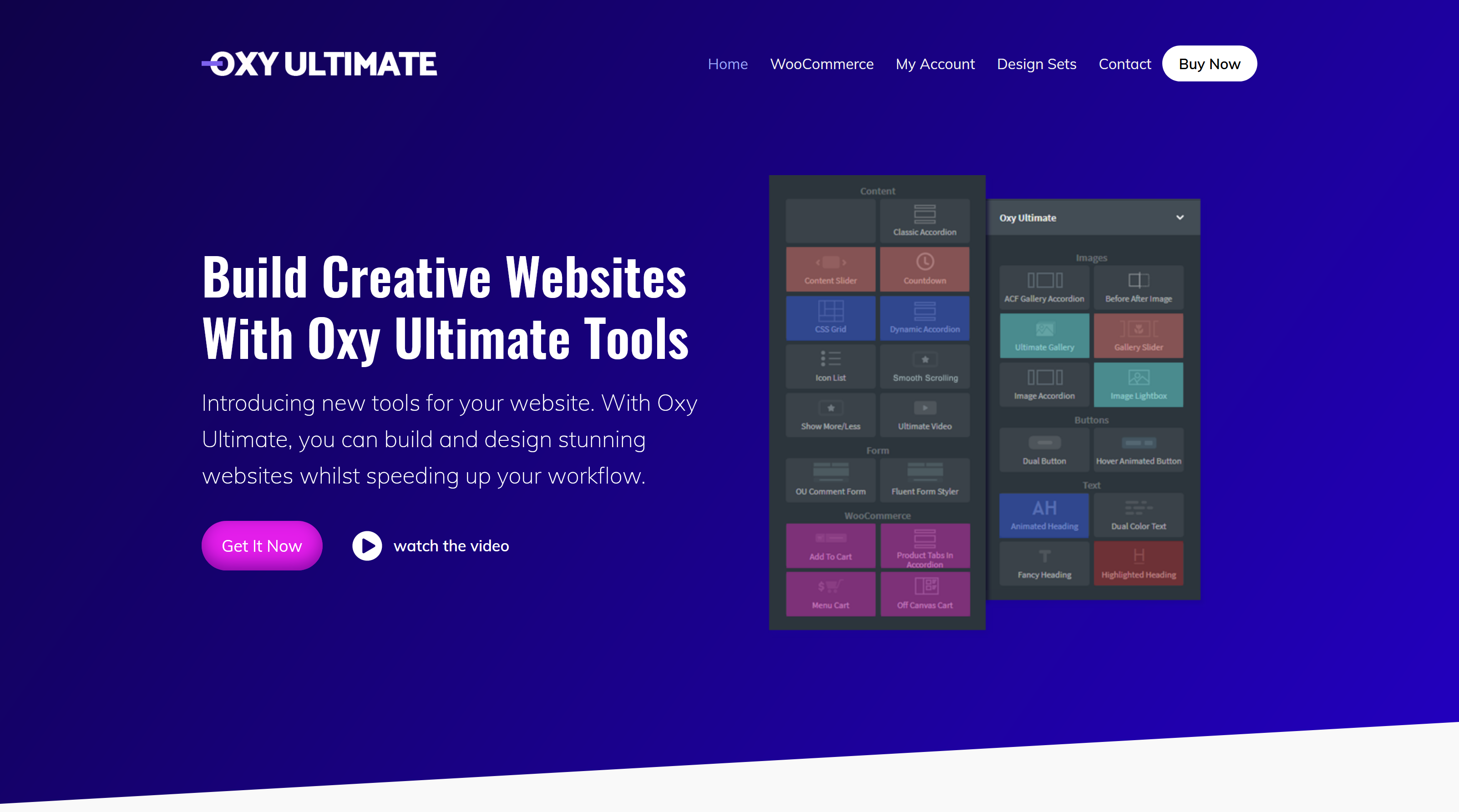 Oxy Ultimate 1.4.13 + Ultimate Woo 1.1.10 – Build Creative Websites With Oxy Ultimate Tools