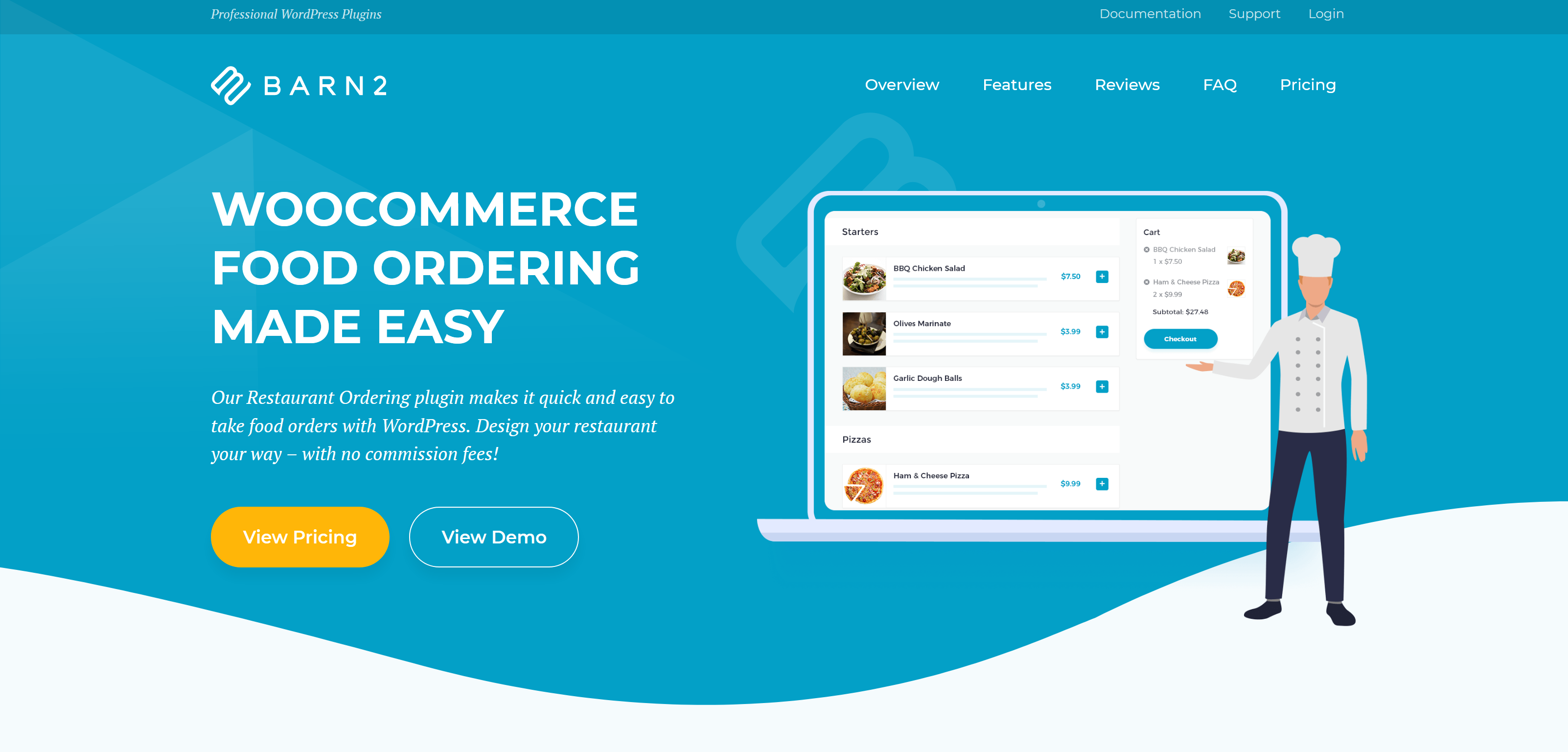WooCommerce Restaurant Ordering 1.2.2 – WordPress Plugin by Barn2 Media