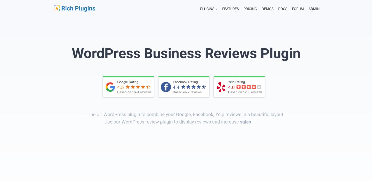 RichPlugins Business Reviews Bundle 1.8 – Business Reviews Plugin