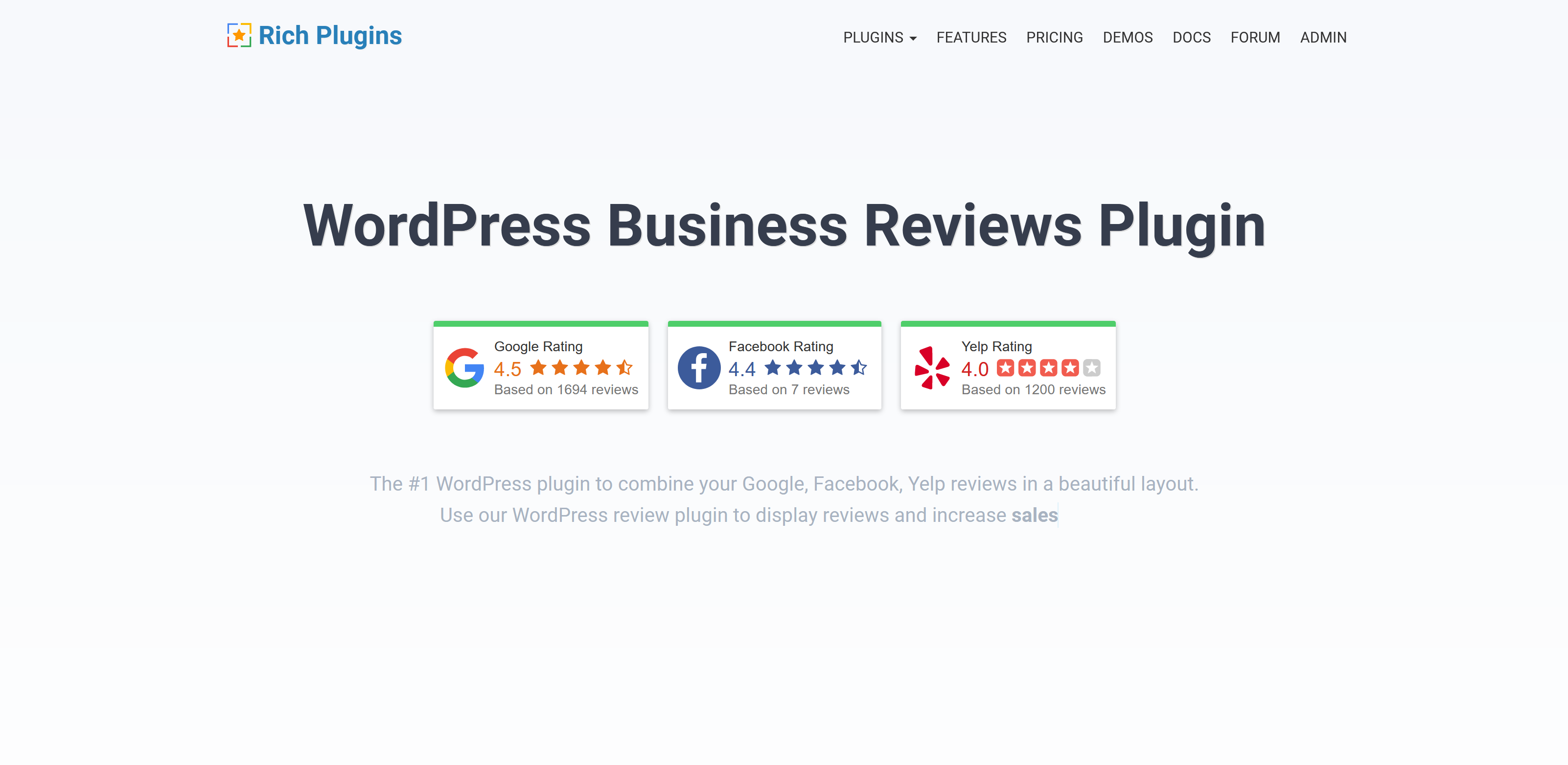 Business Reviews Bundle 1.6 – WordPress Business Reviews Plugin