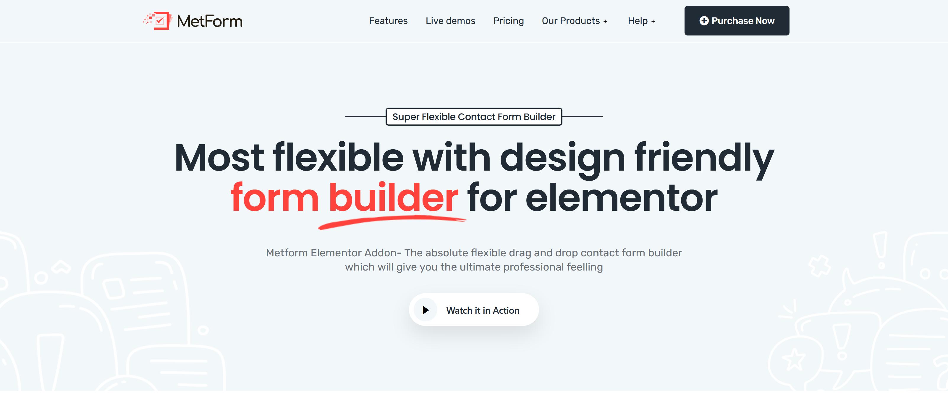 MetForm Pro 1.2.13 – Advanced WordPress Elementor Form Builder