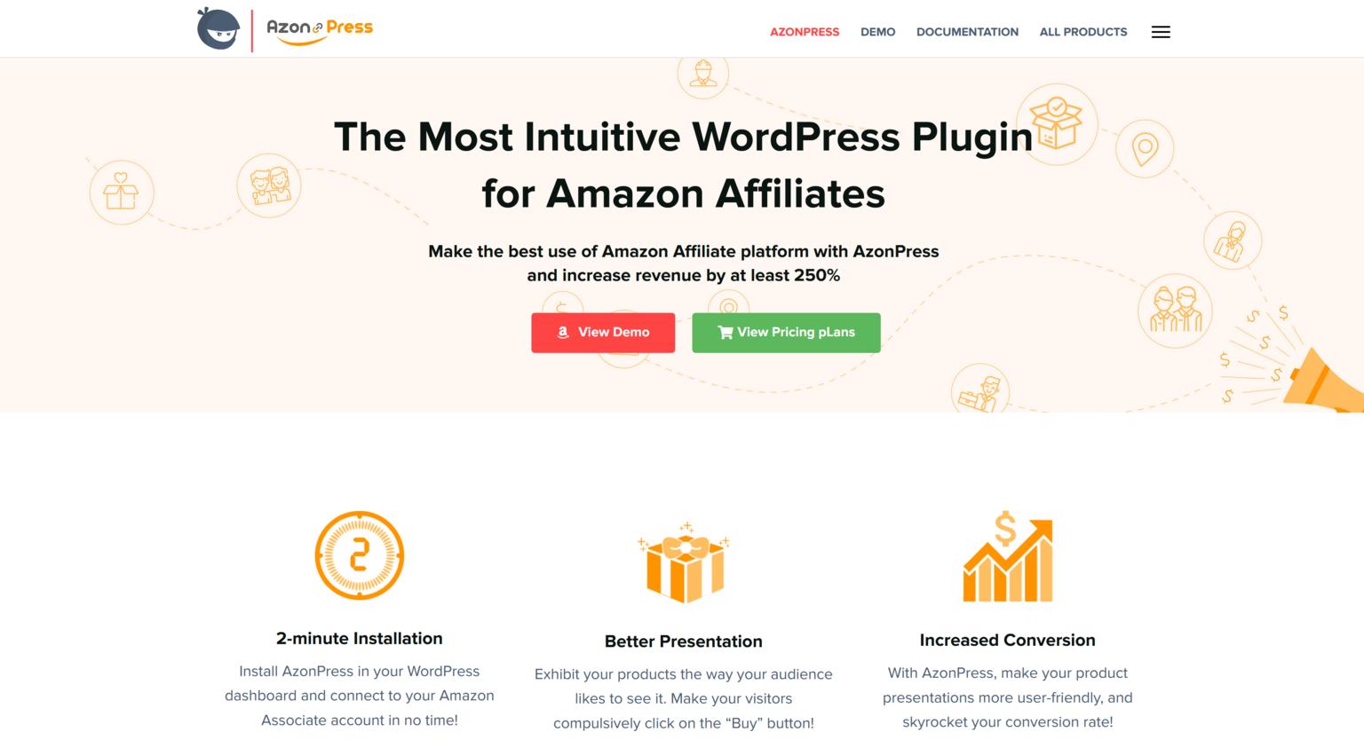 AzonPress 1.7.1 – Intuitive WordPress Plugin for Amazon Affiliates
