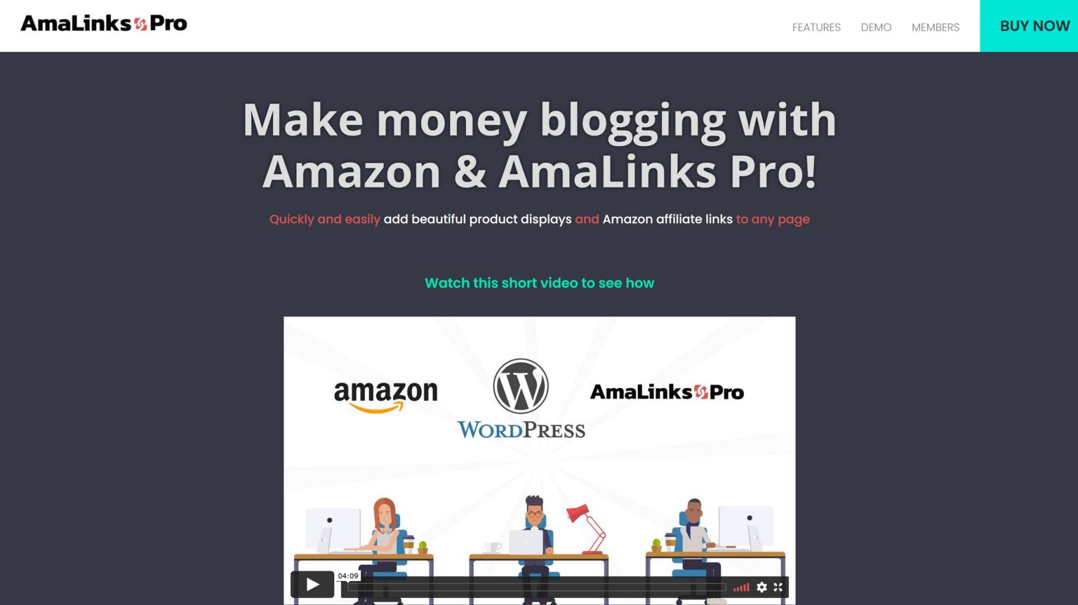 AmaLinks Pro + Tables 1.5.7 – Make Money Blogging With Amazon & AmaLinks Pro