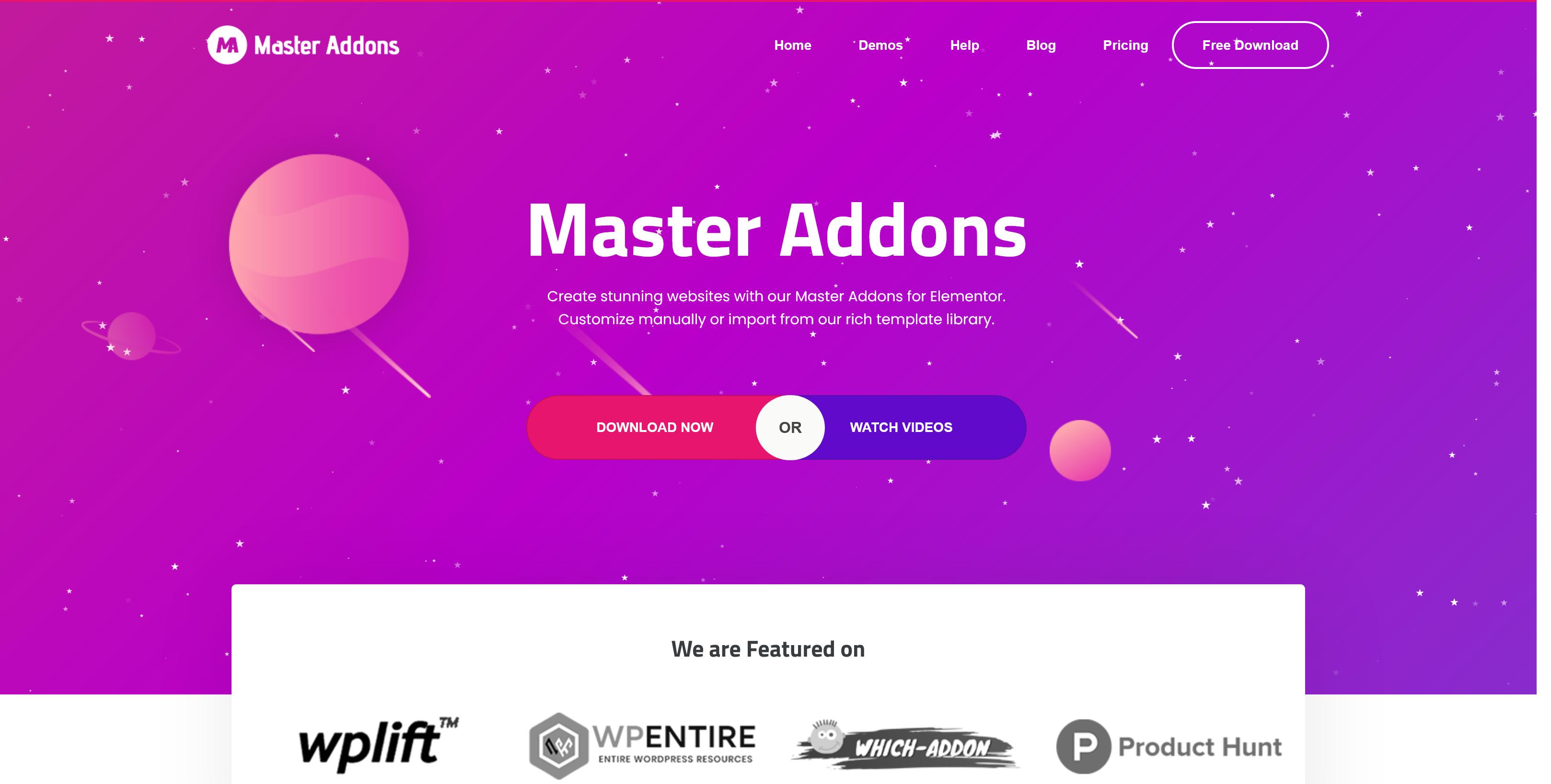 Master Addons Pro for Elementor 1.6.0 – Forefront Elements for WordPress Elementor
