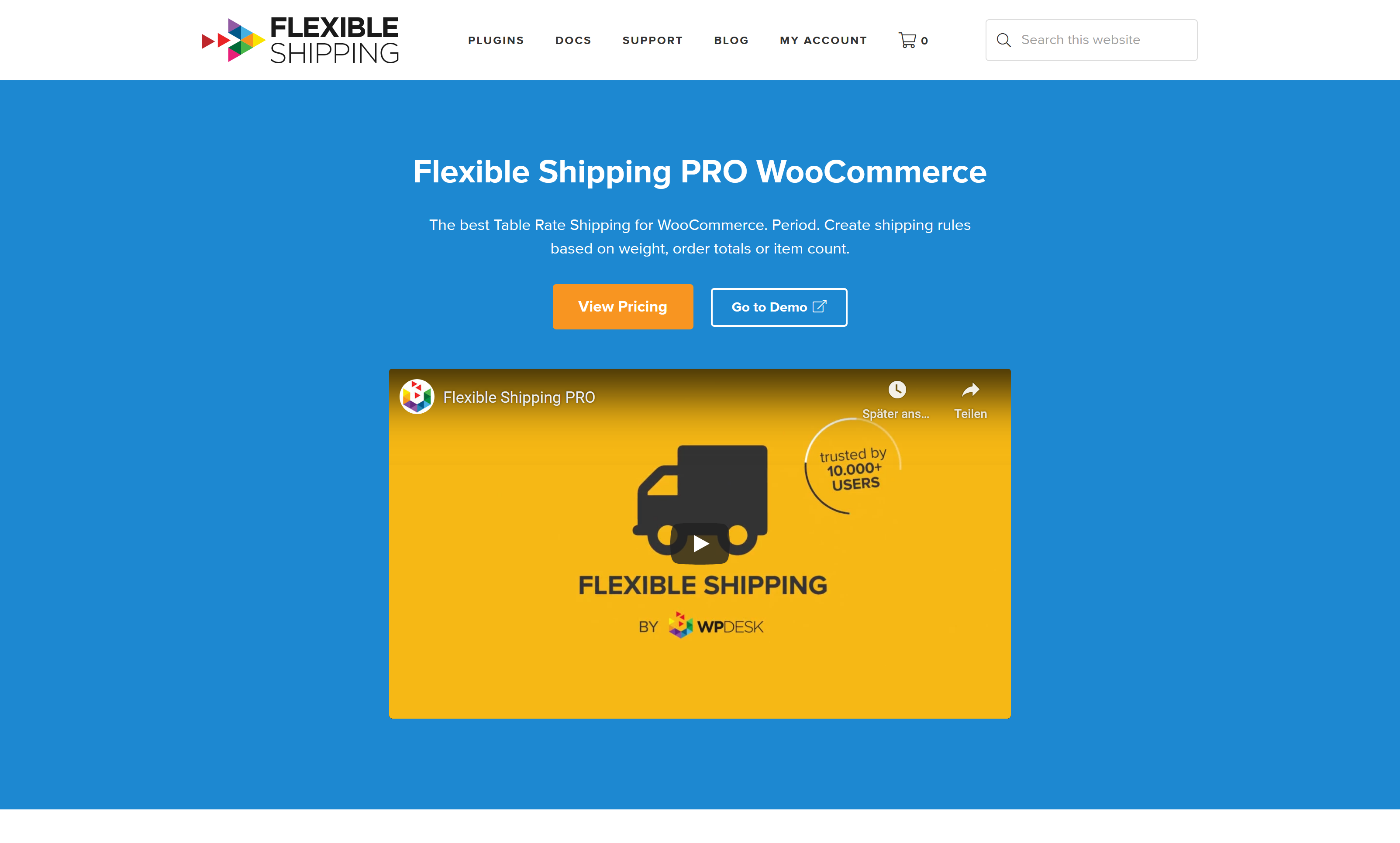 Flexible Shipping Table Rate PRO WooCommerce 2.0.0