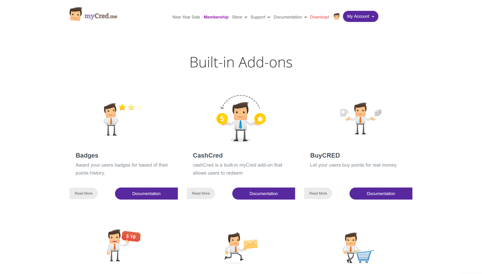 MyCred All 31 Addons Bundle 2.0.1 – Top Rated WordPress Points Management System