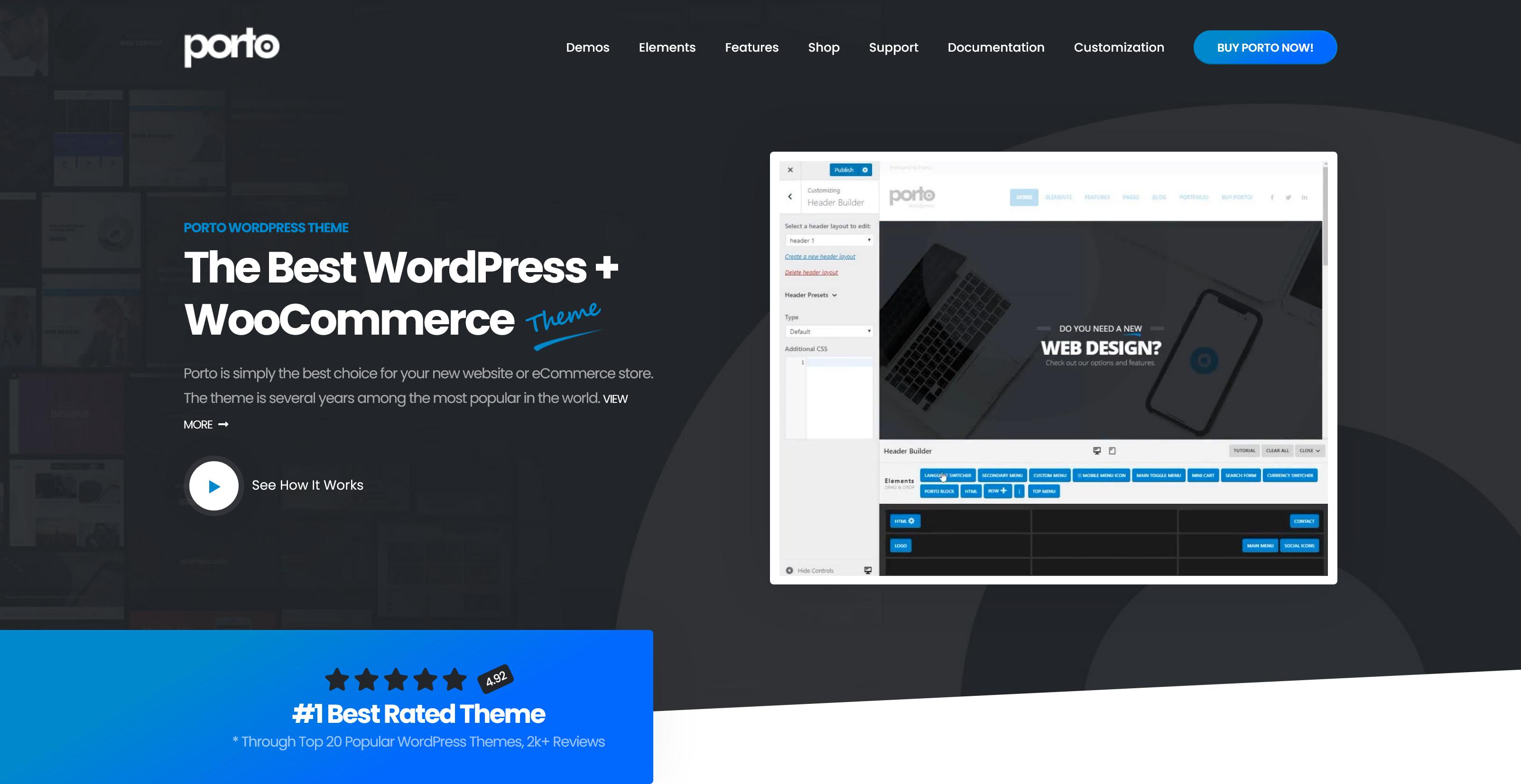 Porto 6.1.1 – Multi-Purpose WordPress & WooCommerce Theme