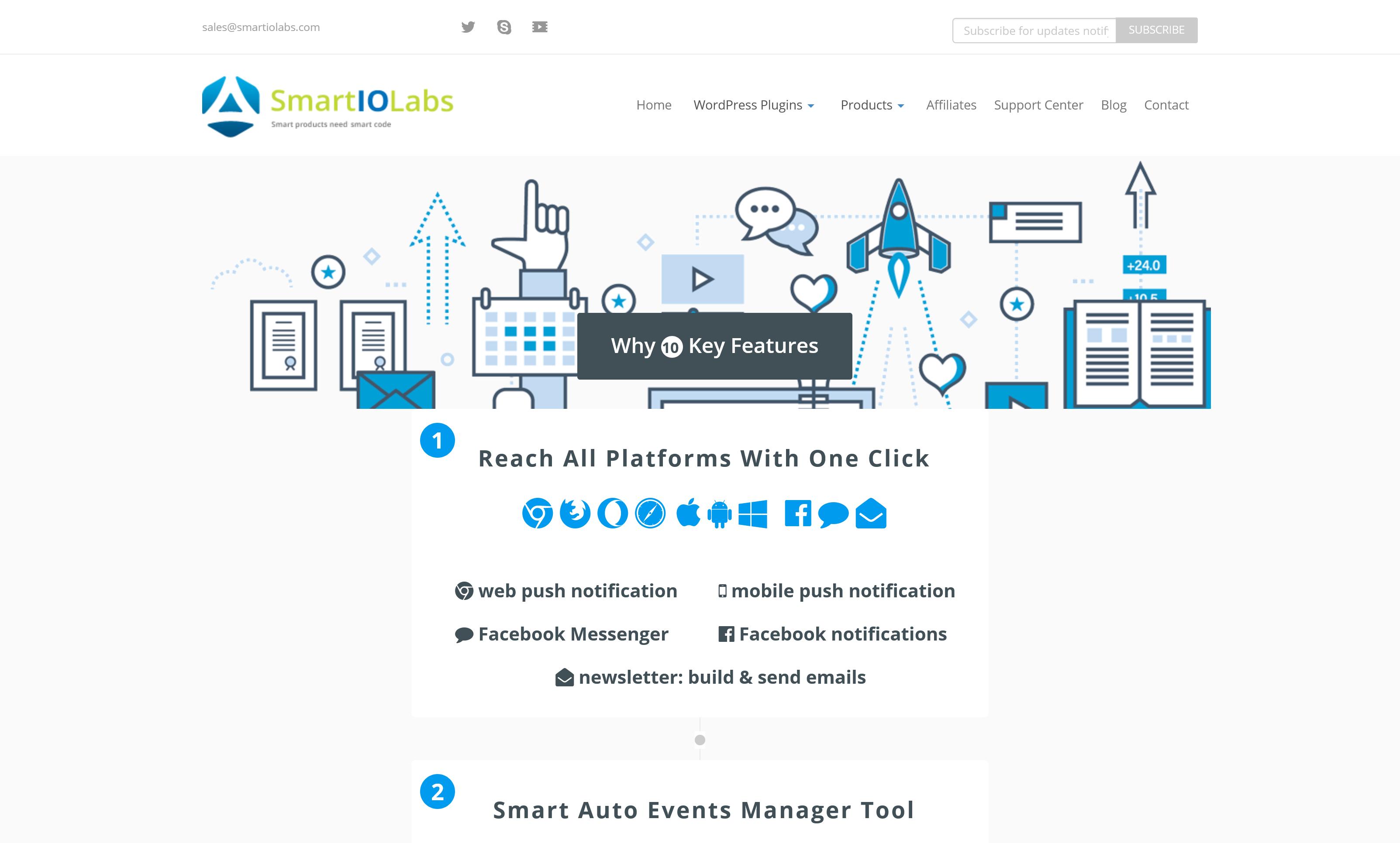Smart Notification WordPress Plugin 9.3.7