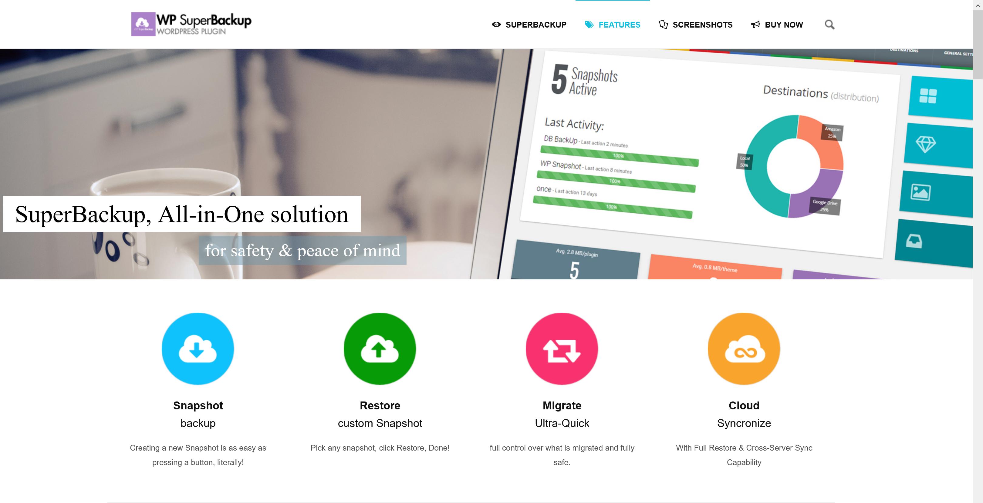 Super Backup & Clone 2.3.3 – Migrate for WordPress