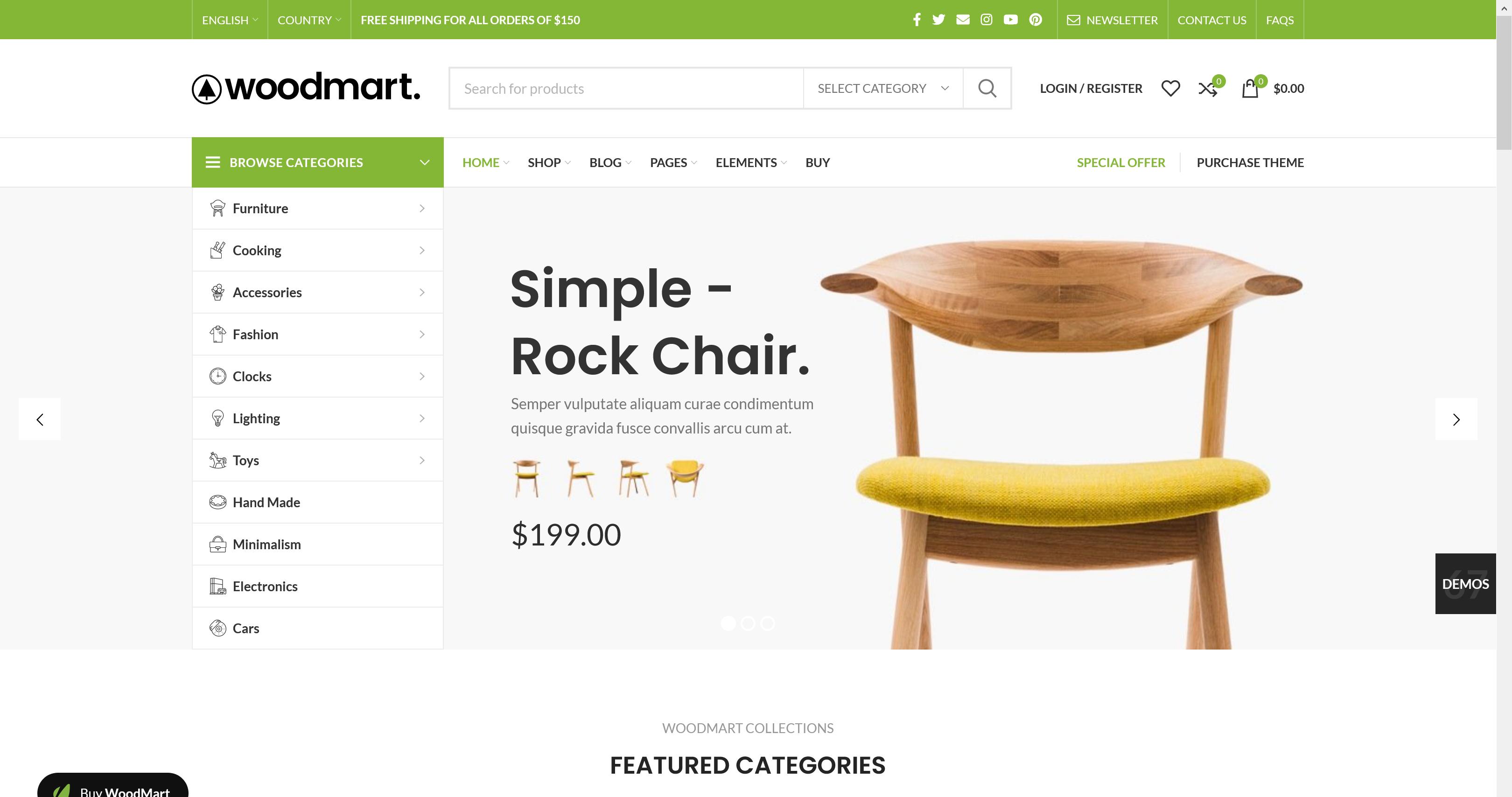 WoodMart 6.1.5 – WooCommerce WordPress Theme